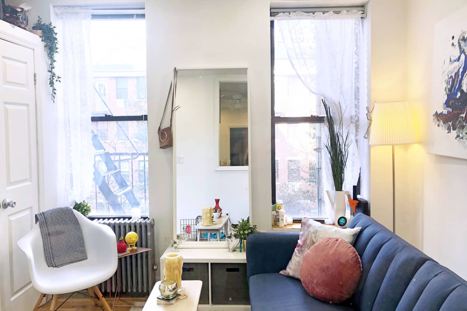 "A 207-Square-Foot NYC Home Is Tiny But ""Lathered in Love"" — House Call"