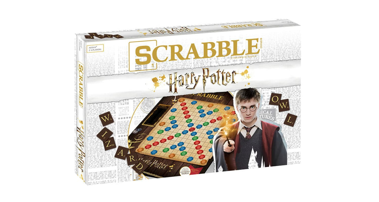 It's Time to Brush Up on Your Wizarding World Lingo, Harry Potter Scrabble Is Heading Your Way