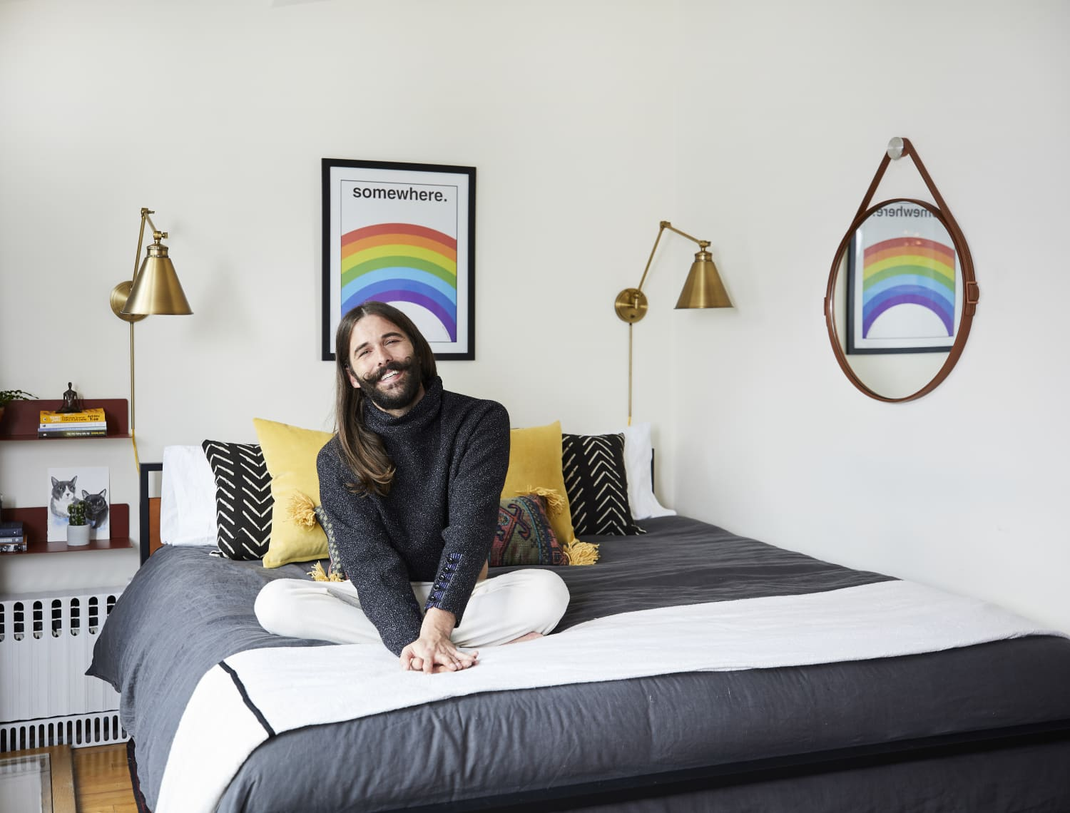 Jonathan Van Ness Got a Bigger NYC Apartment for His Cats
