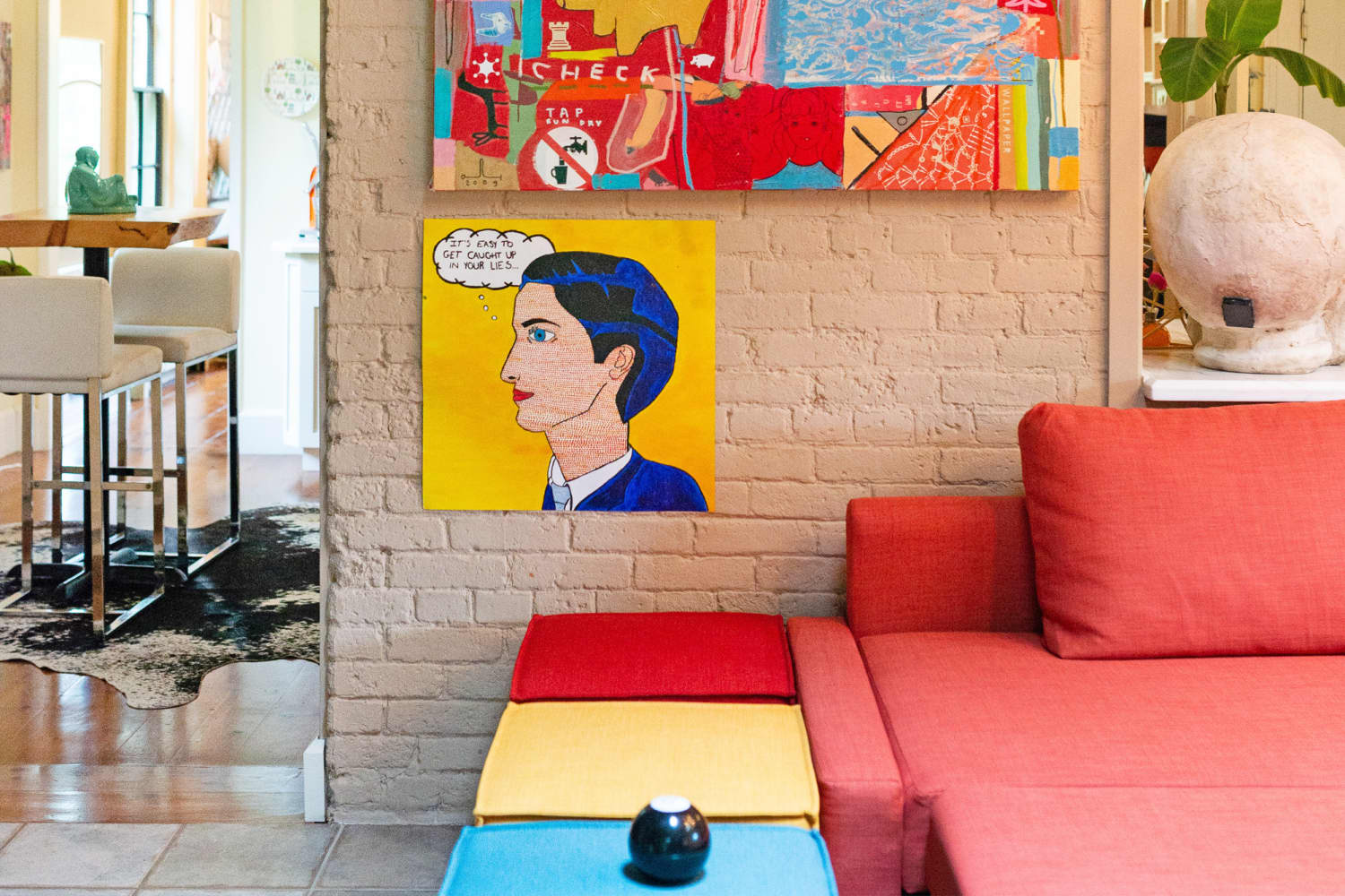 A Colorful House Demonstrates How to Have Fun With Decor
