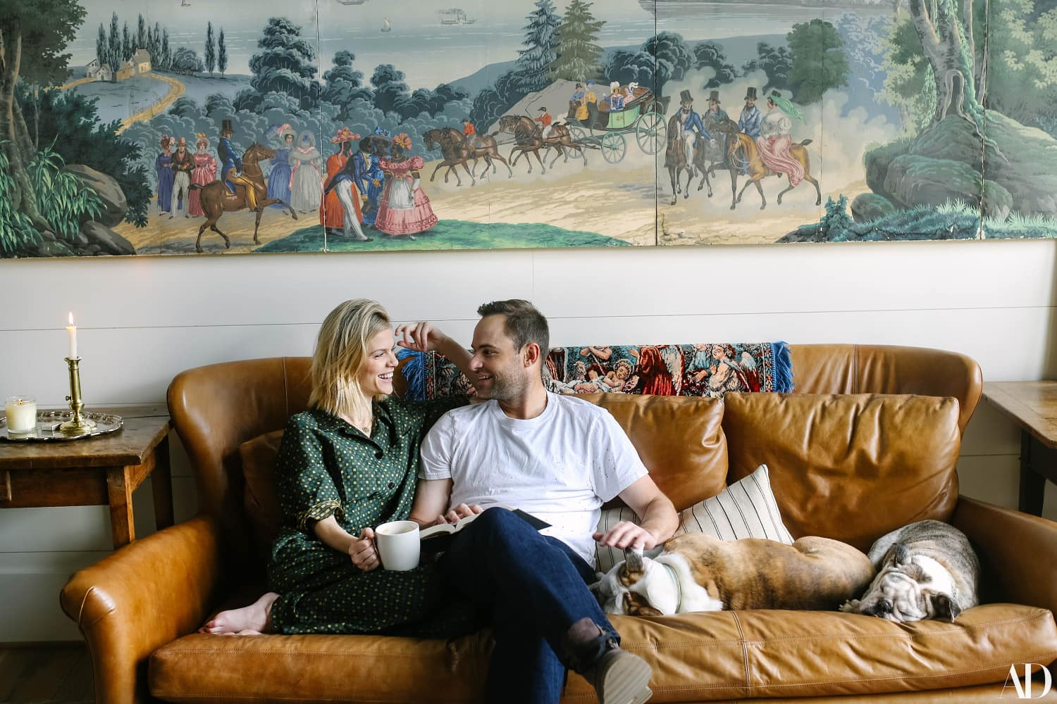 Brooklyn Decker and Andy Roddick's Mountain Home is the Epitome of Rustic Chic