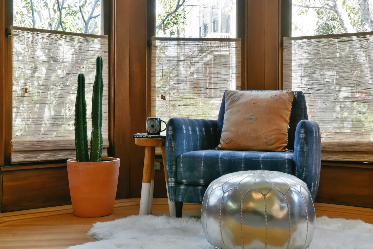 13 Rooms that Prove Poufs Are the Versatile Furniture Your Home Needs | Apartment Therapy