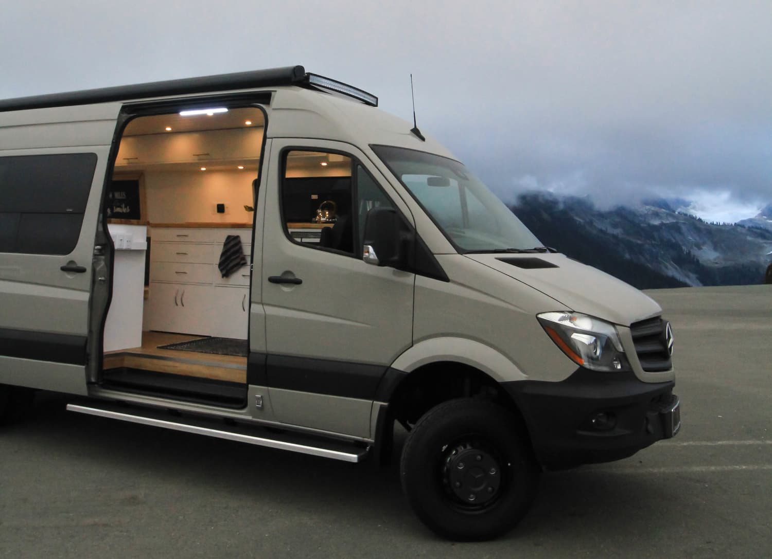 This Van Conversion Is Called Big Gigantic, For Good Reason