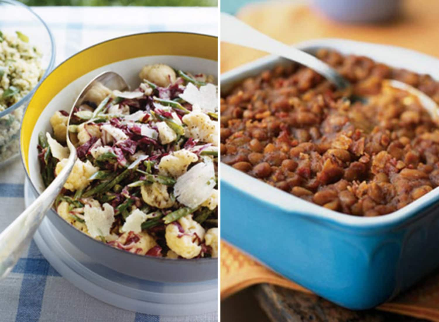 Radicchio Slaw & Tater Fries: 10 Best Barbecue Side Dishes