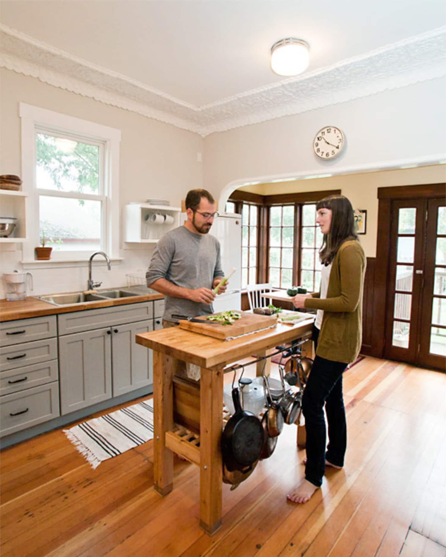 Jenny & Asmund's $4000 Renovated Kitchen & Garden