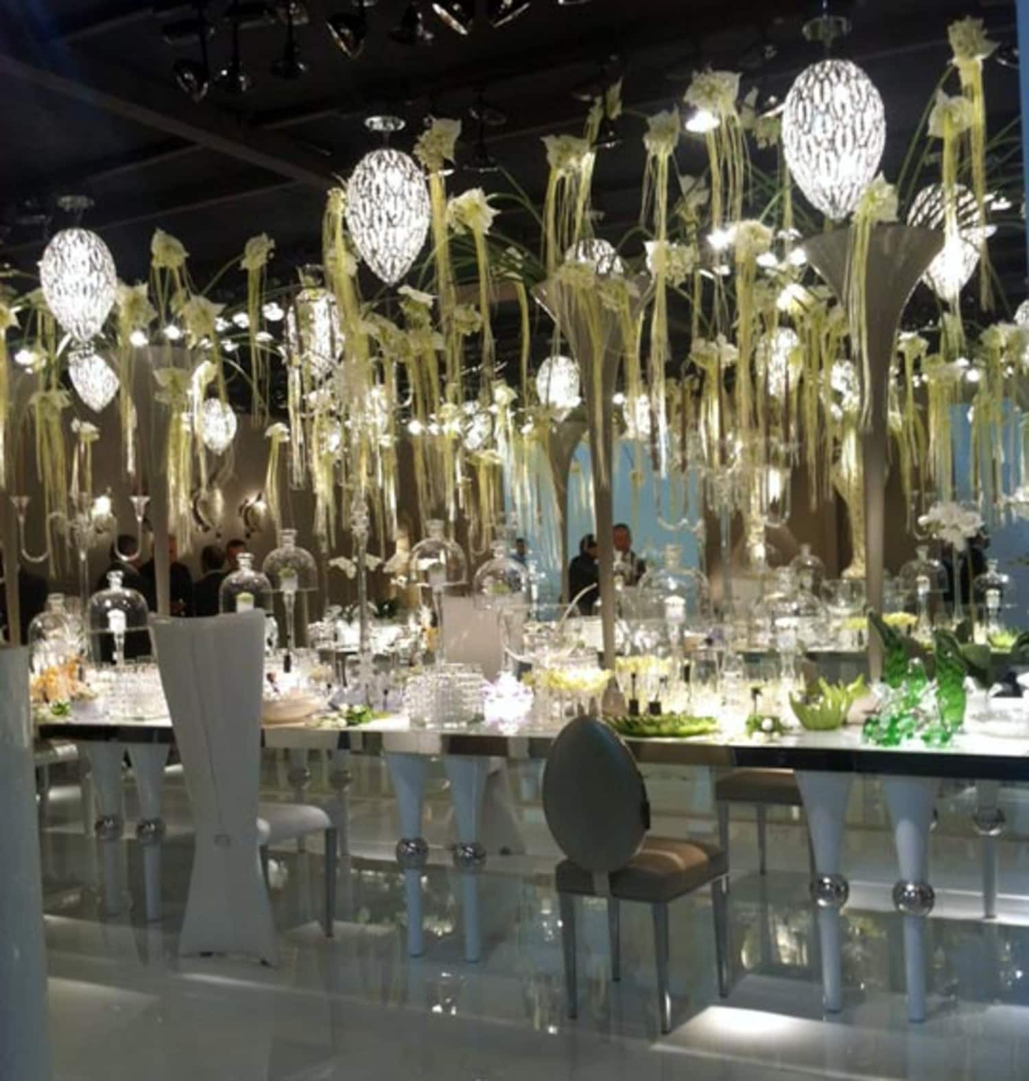 Crystals, Glamour, & Bling In Kitchen Lighting