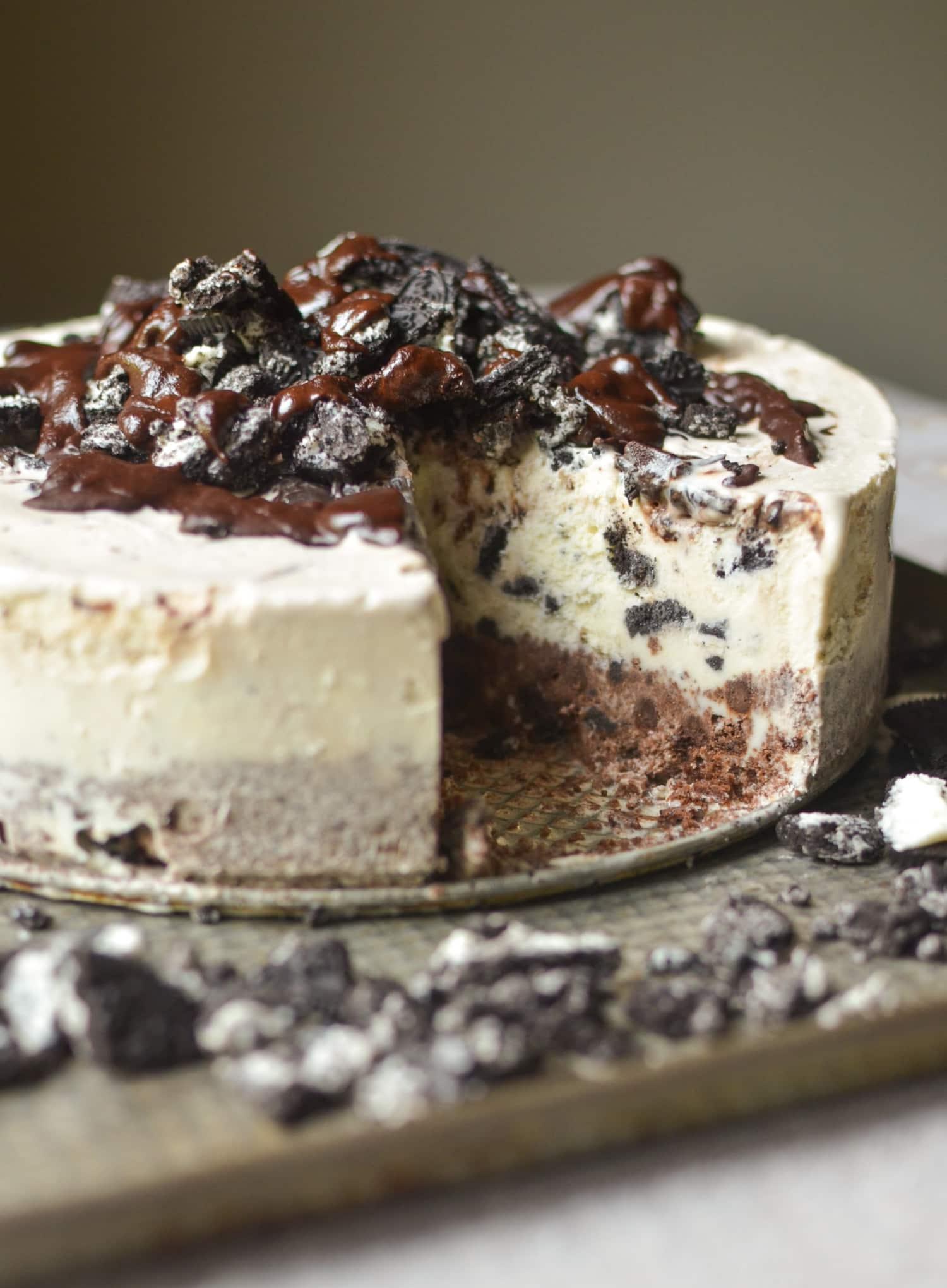 Weekend Dessert Recipe: Frozen Chocolate Oreo Ice Cream ...