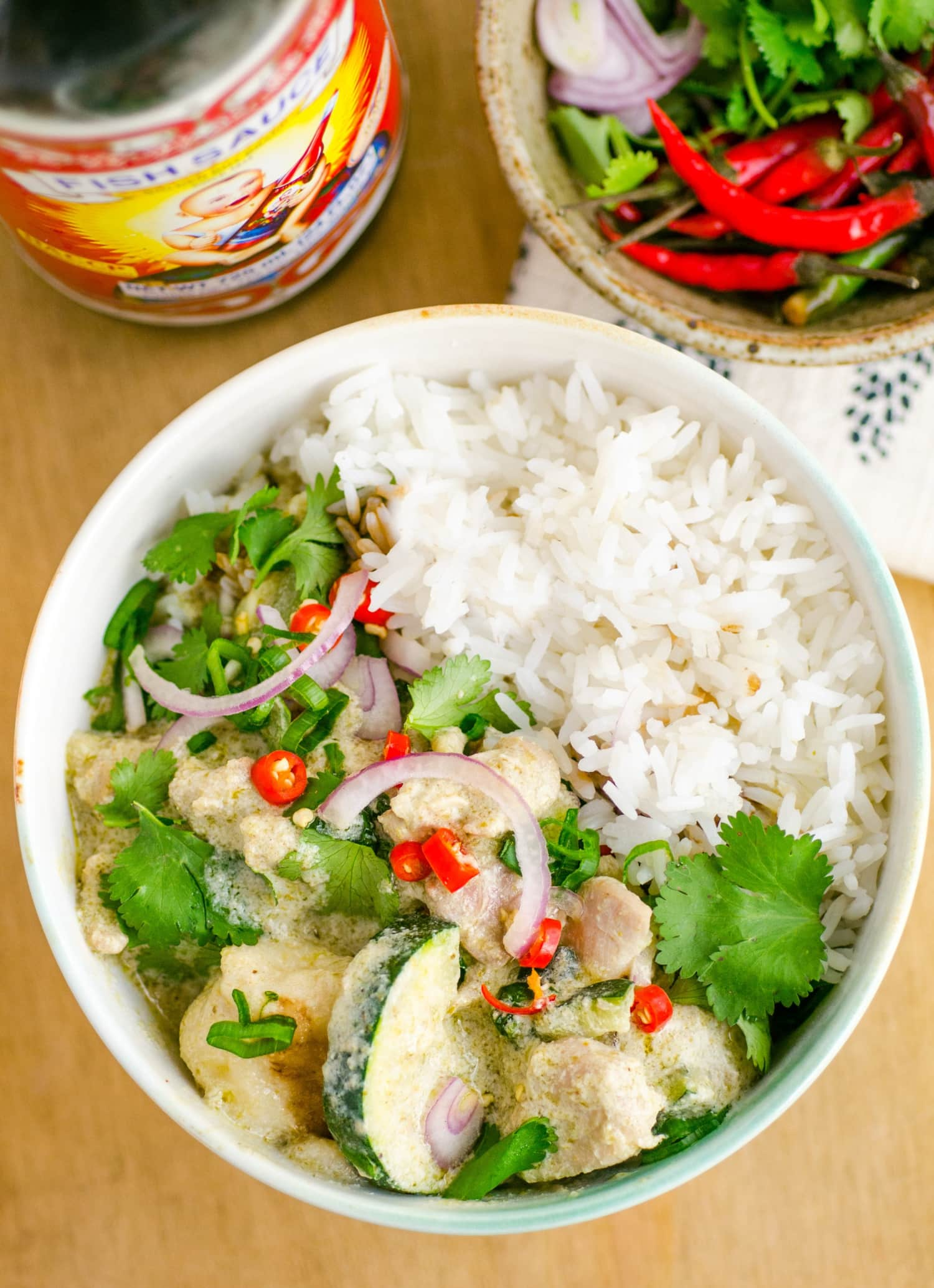 Recipe: The Easiest Thai Green Coconut Curry
