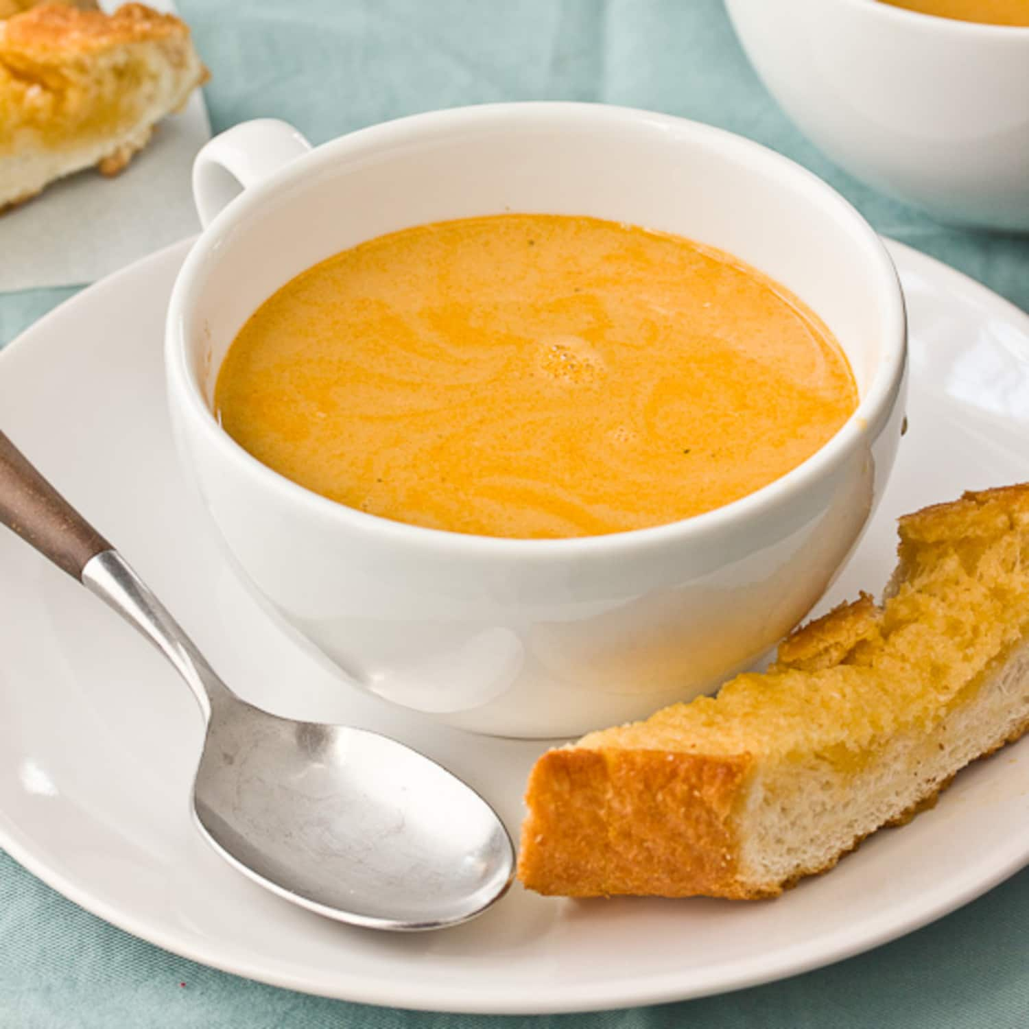 Lobster Bisque Recipes: Recipe: Easy Lobster Bisque For Two