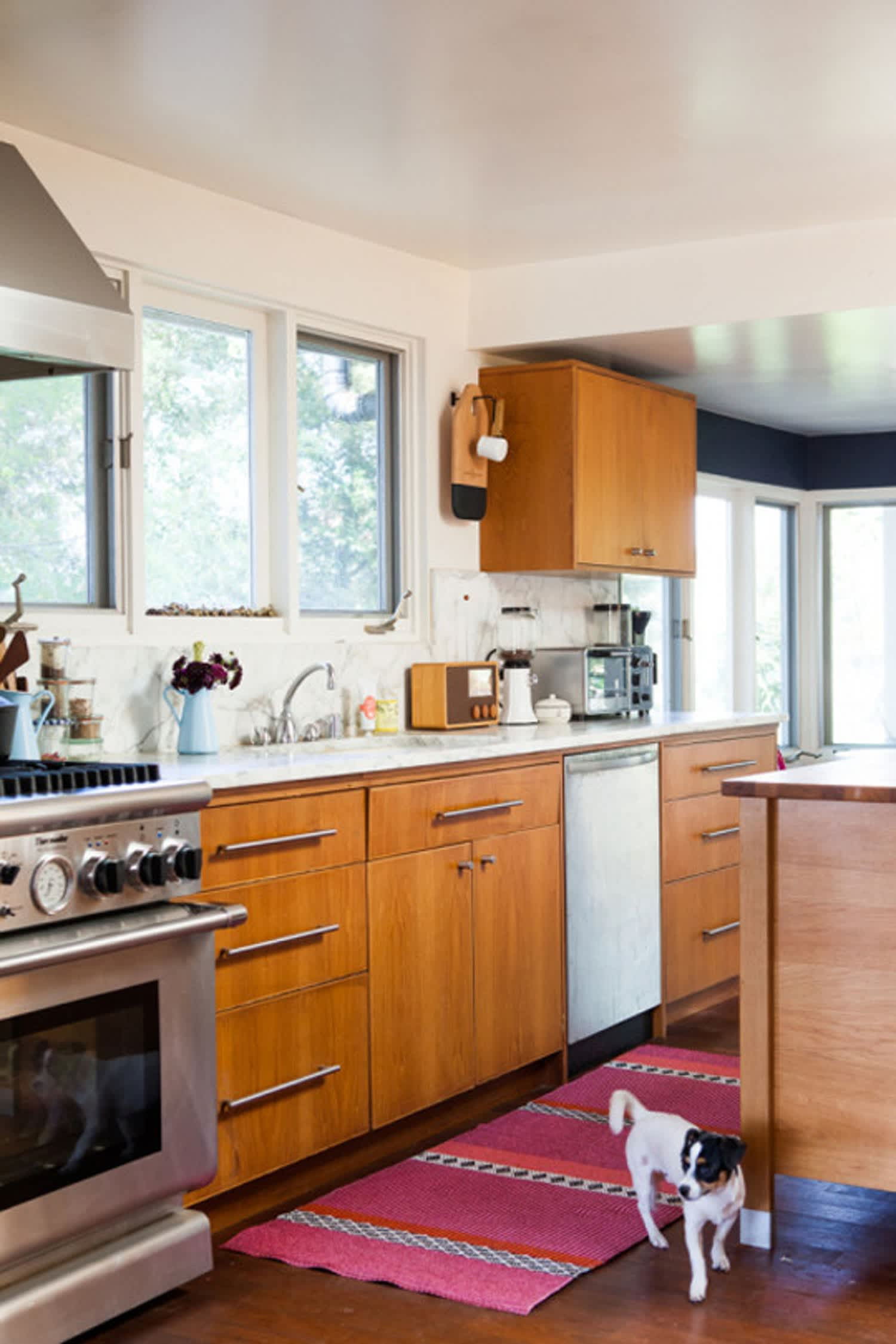 The Perfect Kitchen Rug Is Pretty Washable And