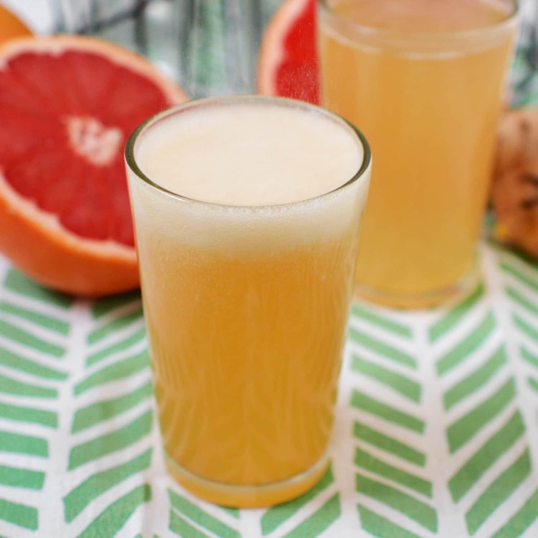 Recipe: Grapefruit Honey Ginger Soda
