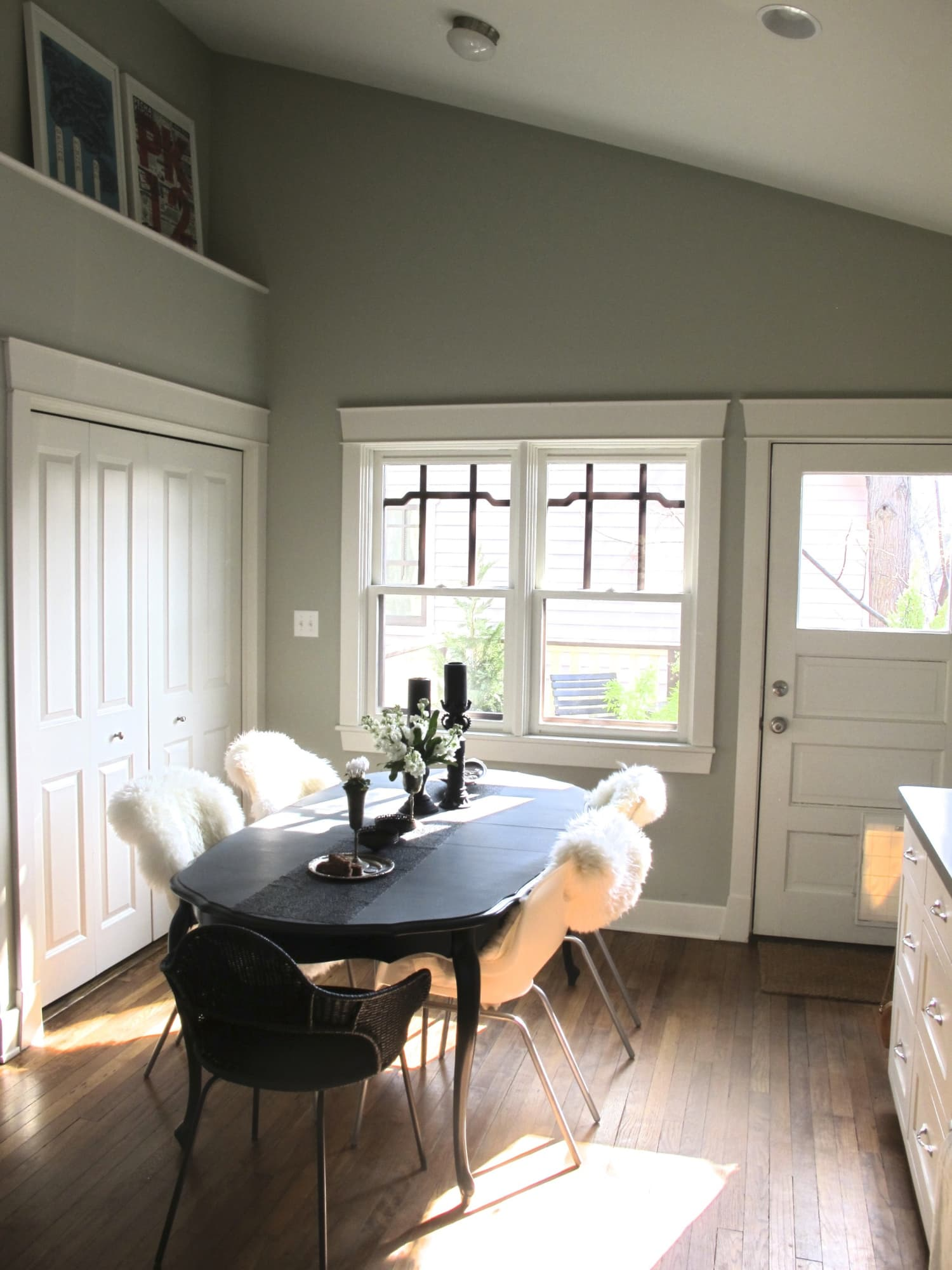 Imaginecozy Staging A Kitchen: So Cozy: Sheepskin Dining Chair Covers
