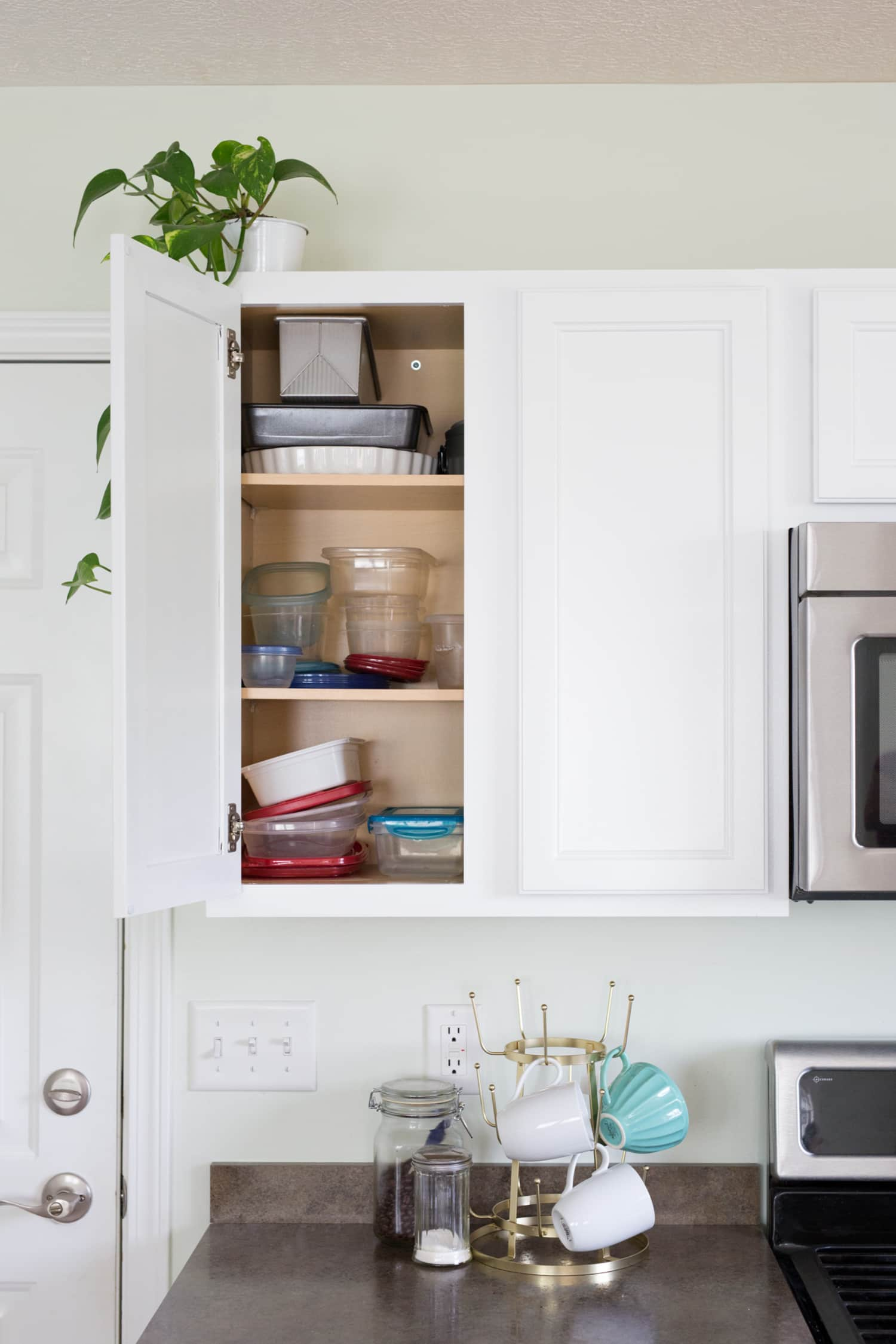 7 Tricks for Taming Your Cabinet of Food Storage ...