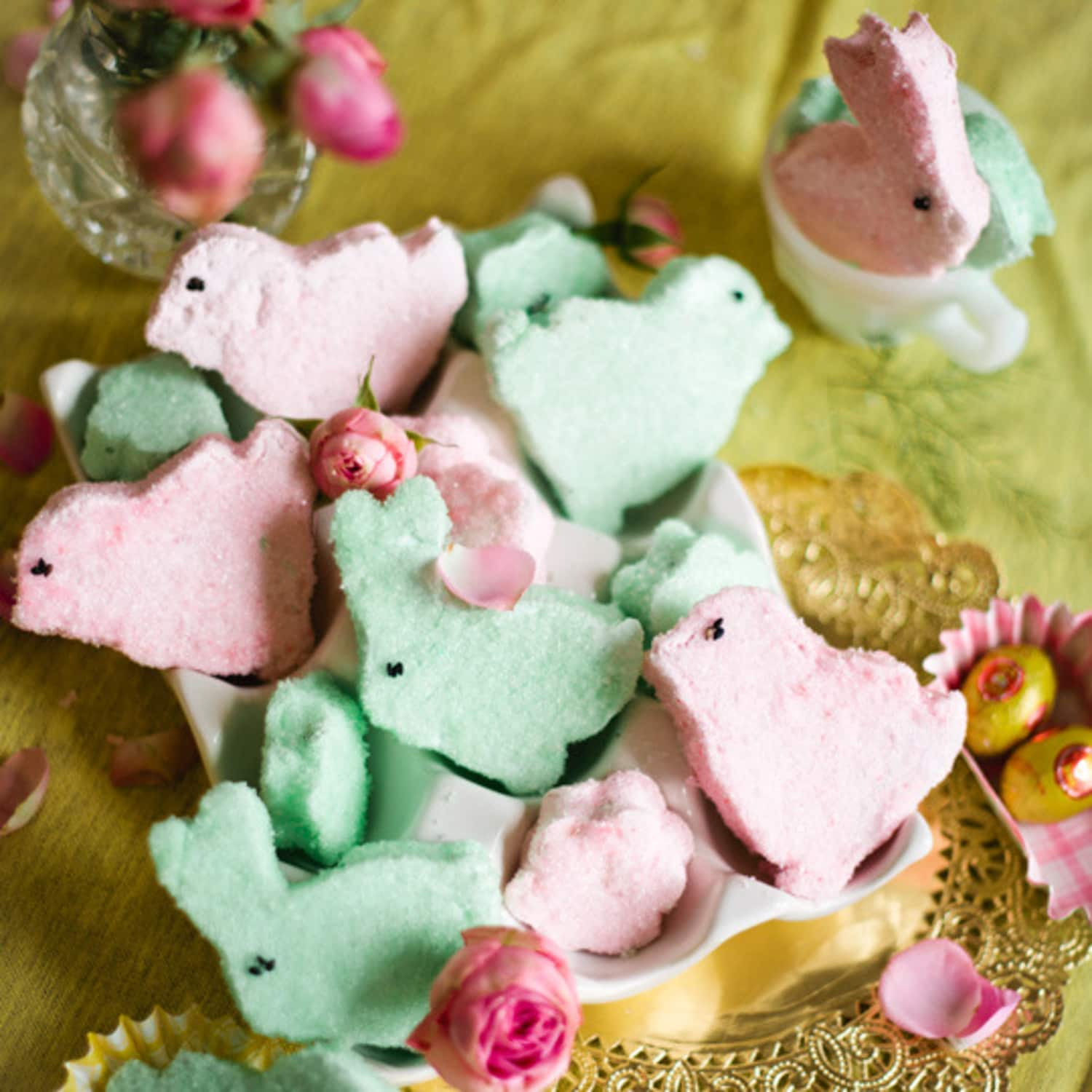 Easter Things: How To Make Marshmallow Peeps At Home