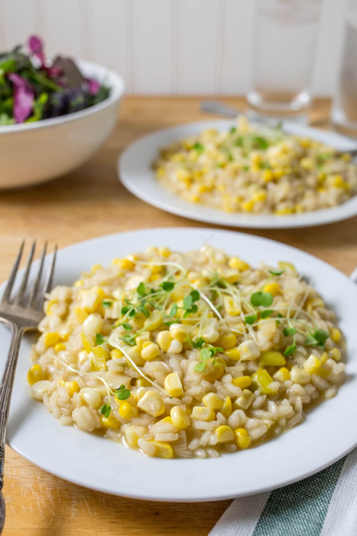Recipe: Sweet Corn Risotto | Kitchn