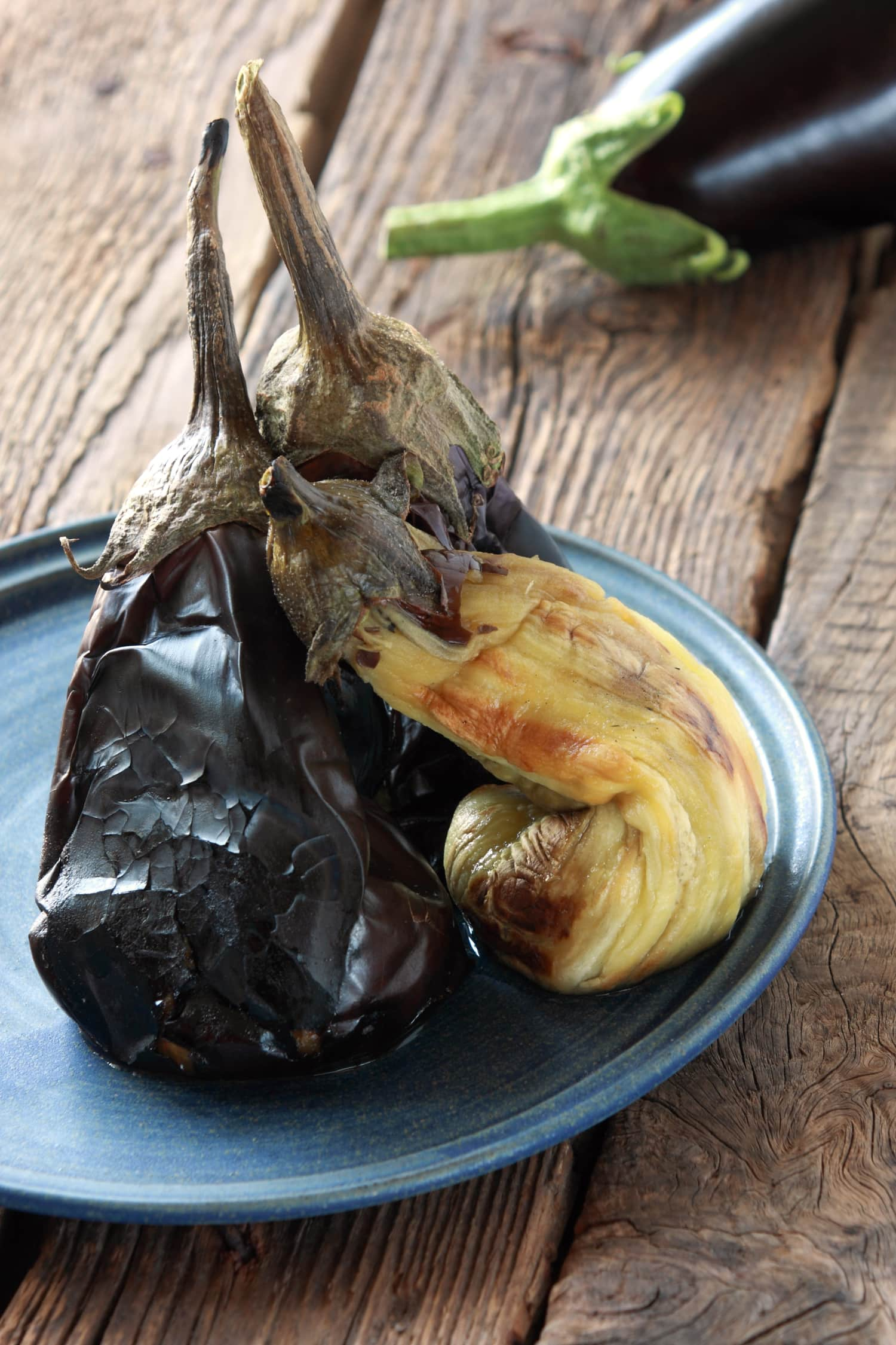 The Best Way to Cook Eggplant Is to Burn It
