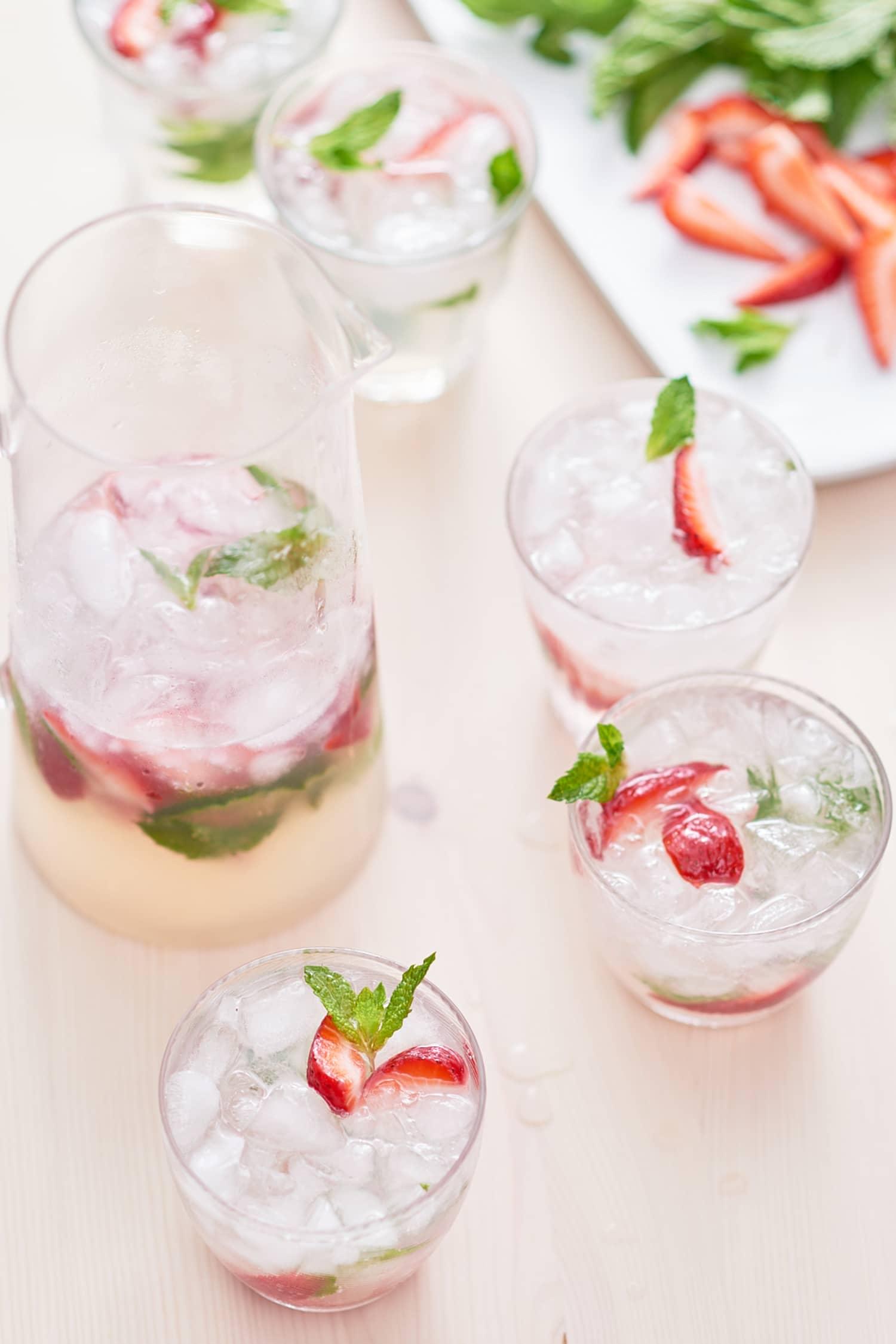 Recipe: Strawberry Mojito Pitcher