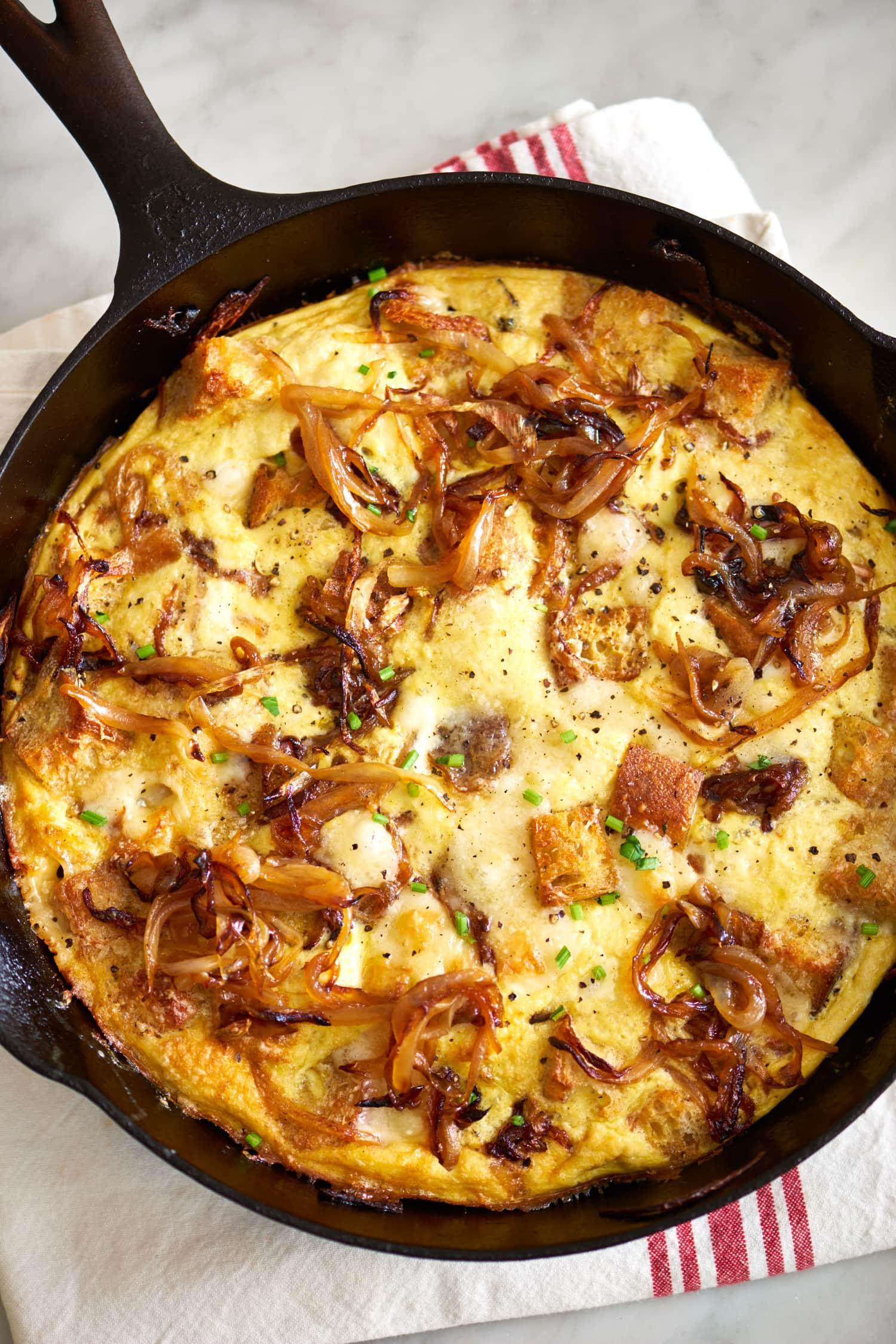 Recipe: French Onion Frittata