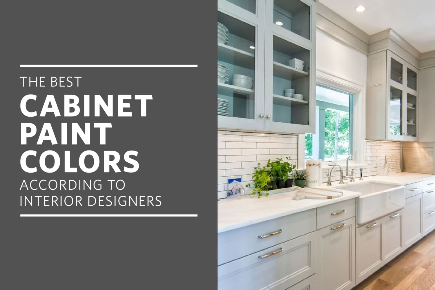 The Best Cabinet Paint Colors for a Happier Kitchen, According to Interior Designers
