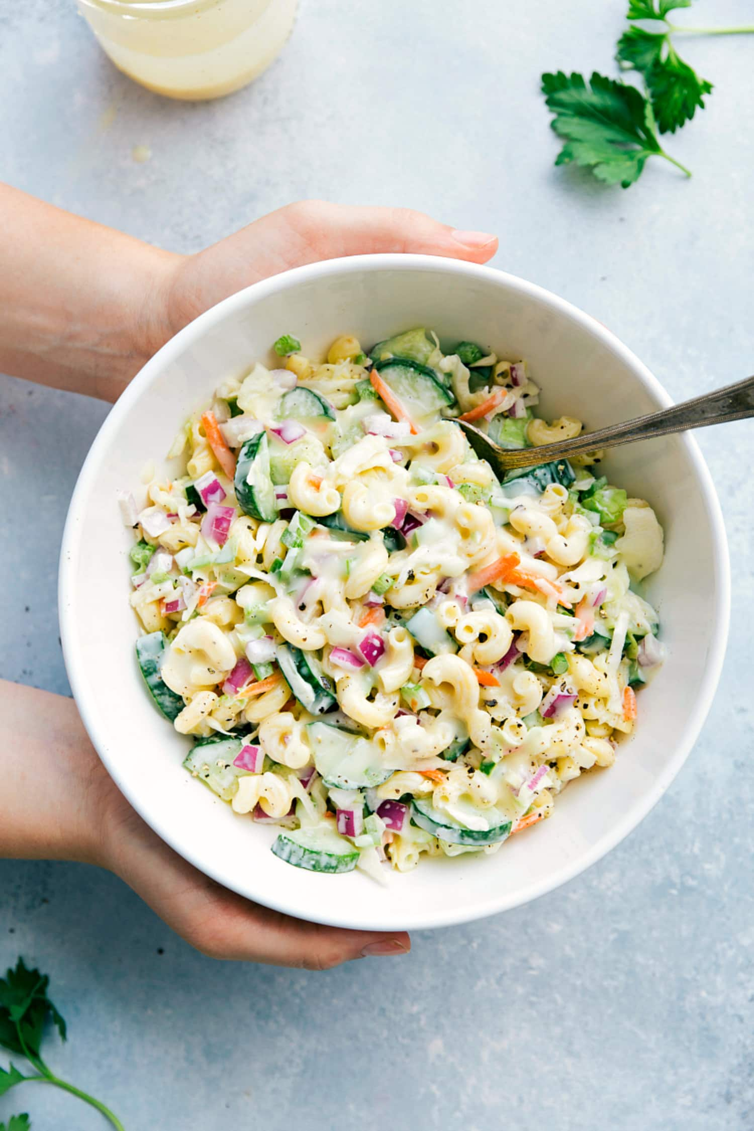 This Macaroni Coleslaw Salad Is the Ultimate Cookout Side Dish