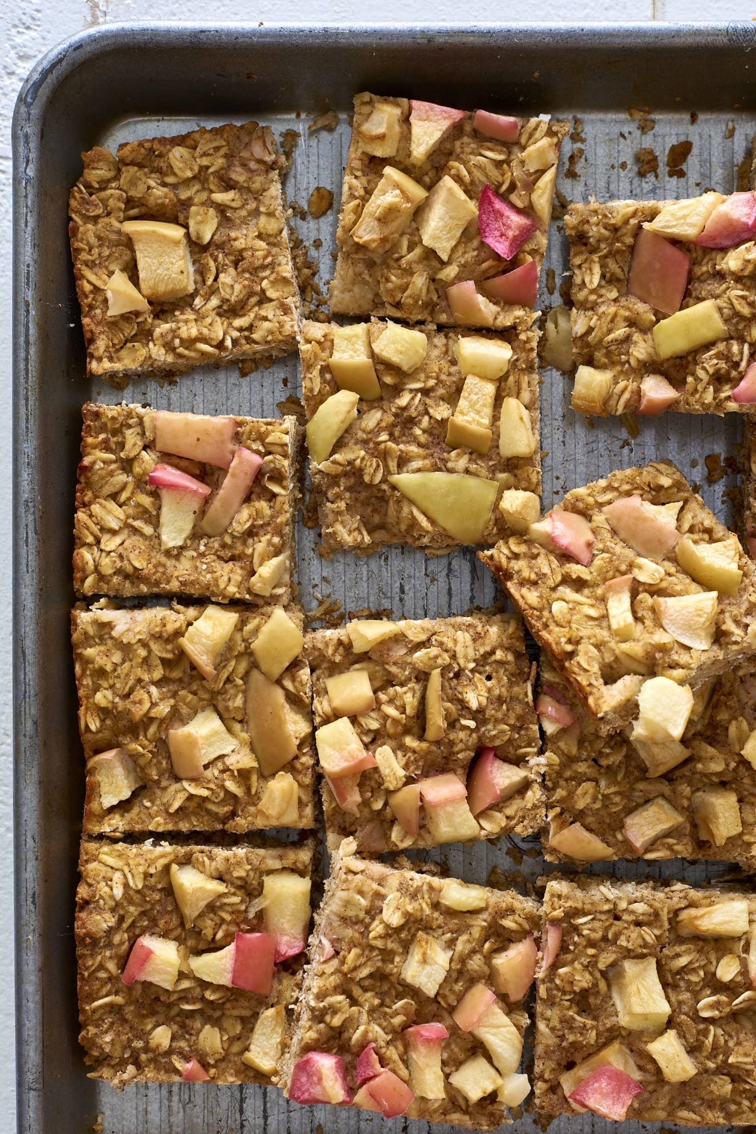 Recipe: Baked Apple-Oat Breakfast Squares