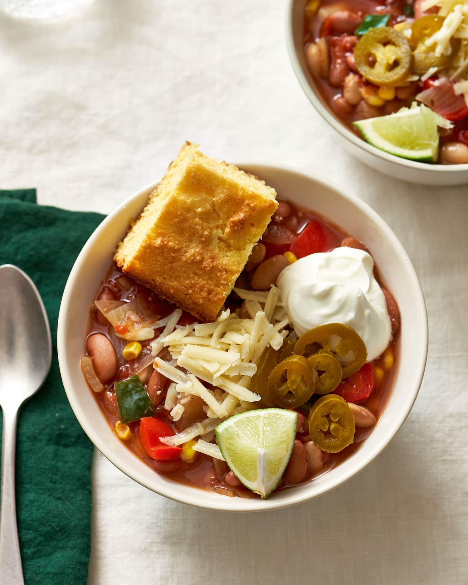 Recipe: Slow Cooker Vegetarian Chili