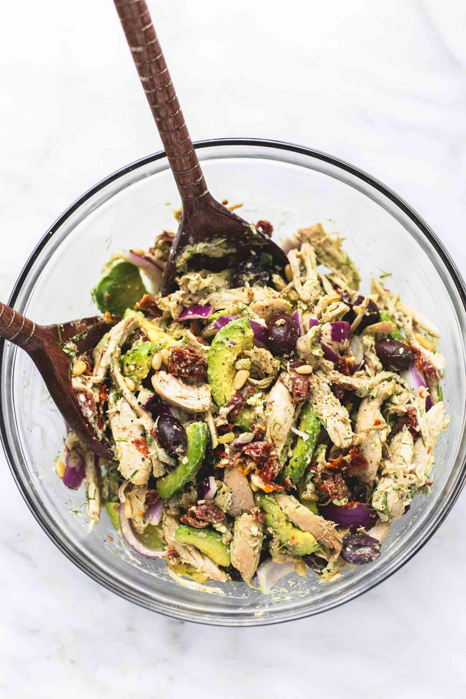 Make This Greek Avocado Chicken Salad and Eat It All Week