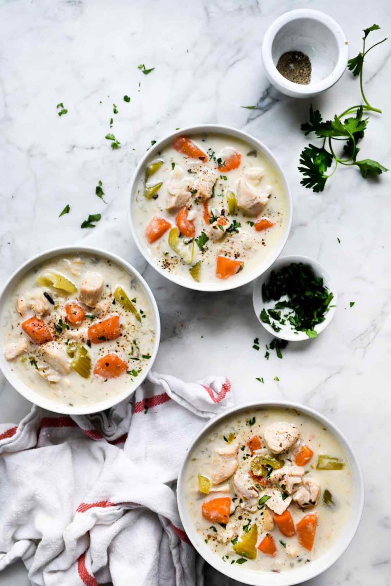 Make This Creamy Chicken Soup in the Instant Pot