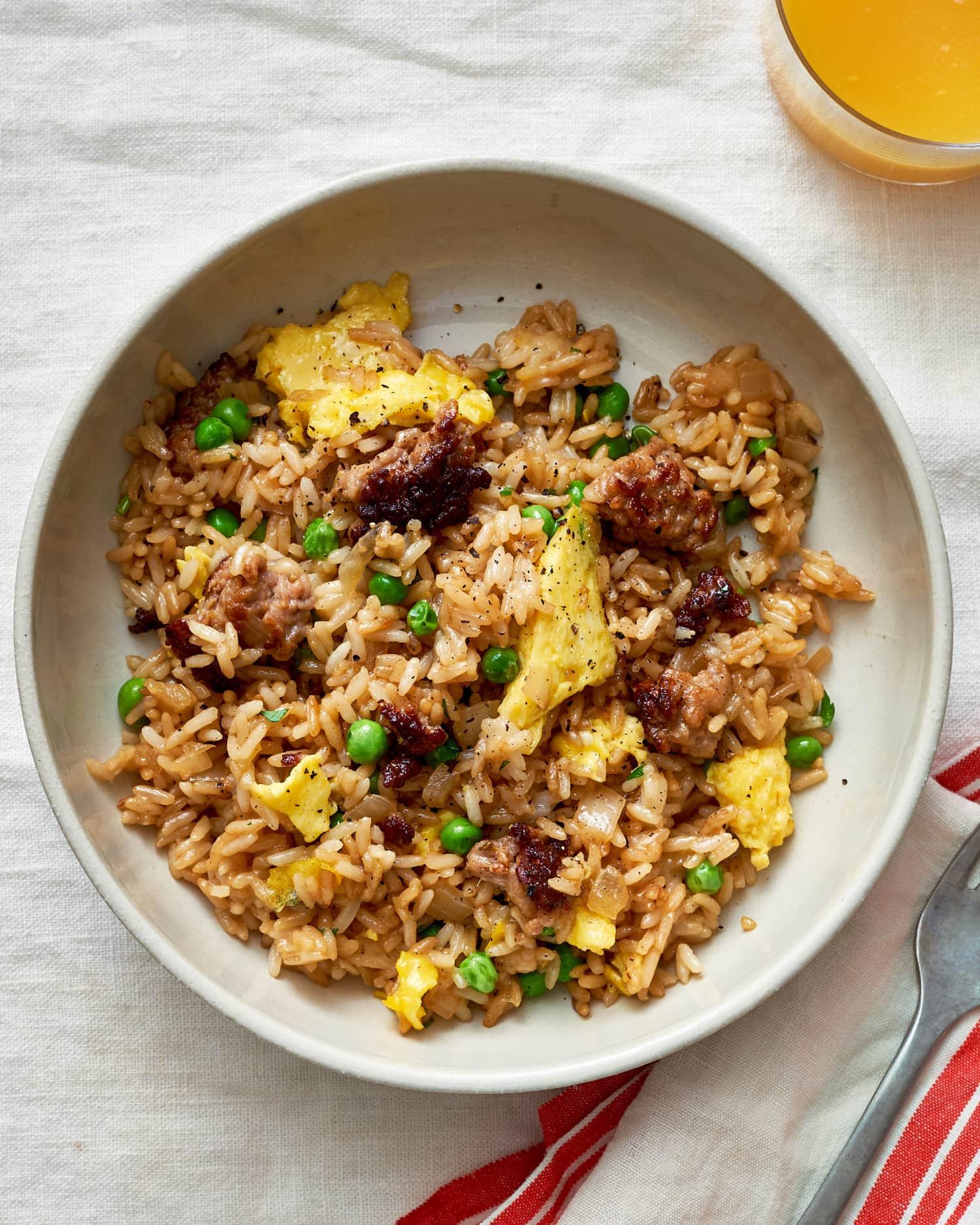 Recipe: Breakfast Fried Rice