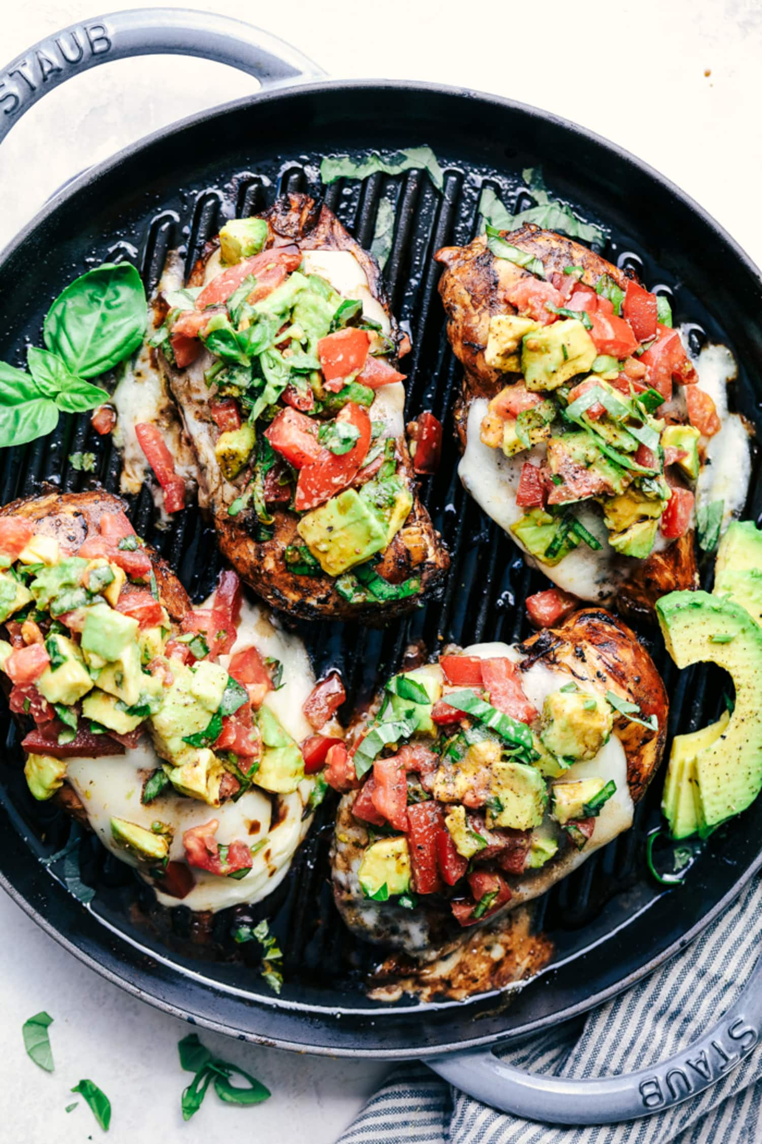 Make This Easy Grilled Chicken with Avocado for Dinner