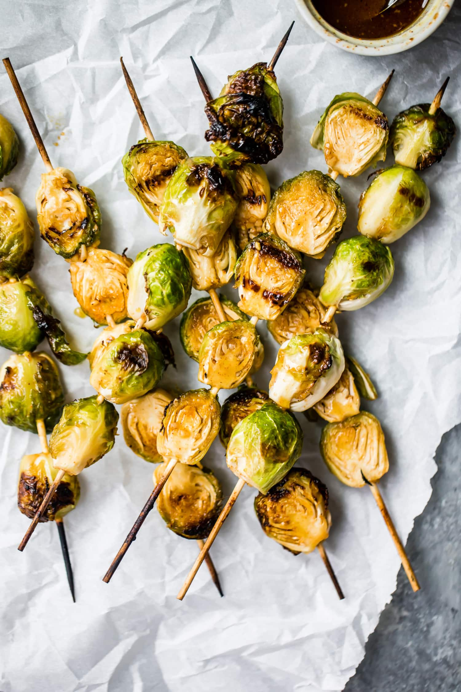 These Maple Dijon Grilled Brussels Sprouts Are the Perfect Side