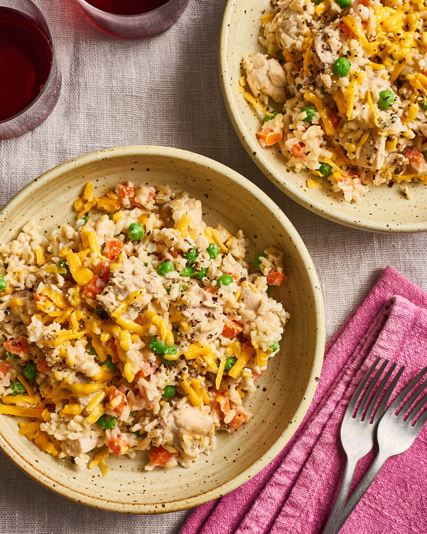 Creamy Chicken And Rice Is A One-Pot Dinner Dream