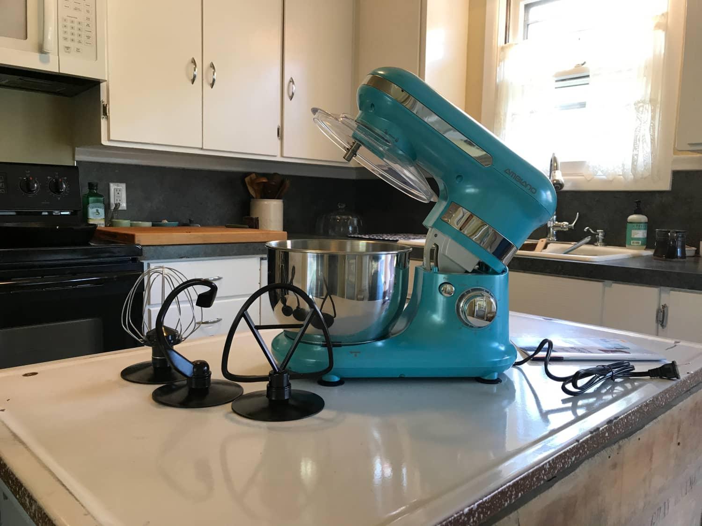 aldi s 60 kitchenaid look alike stand mixer is back kitchn. Black Bedroom Furniture Sets. Home Design Ideas