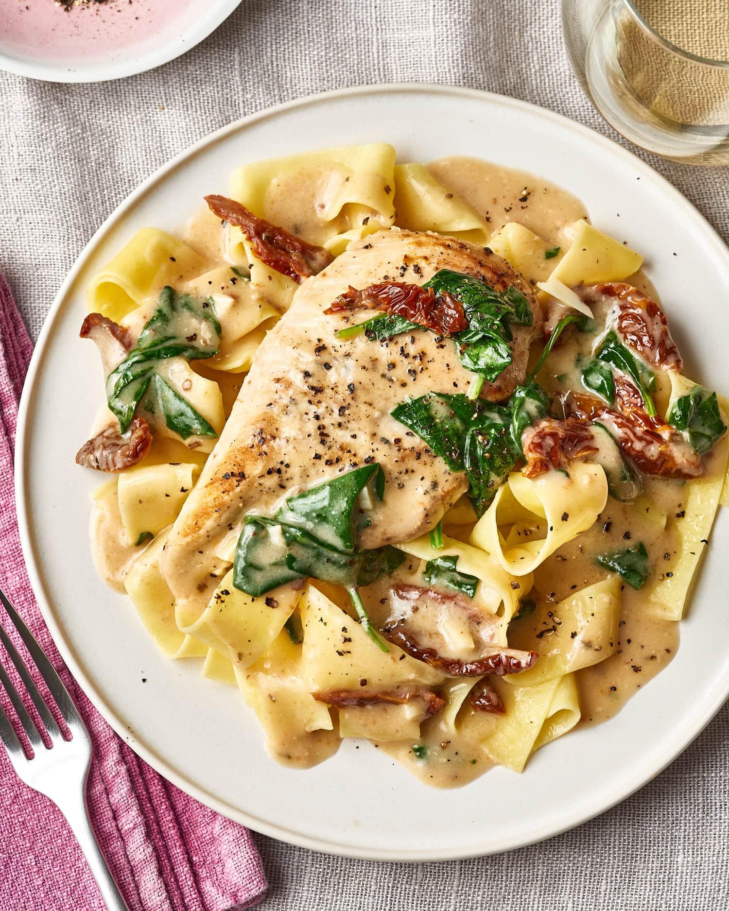 Recipe: Slow Cooker Creamy Tuscan Garlic Chicken