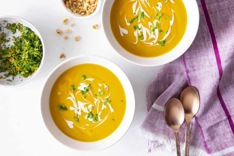 Recipe: Butternut Squash & Walnut Cream Soup