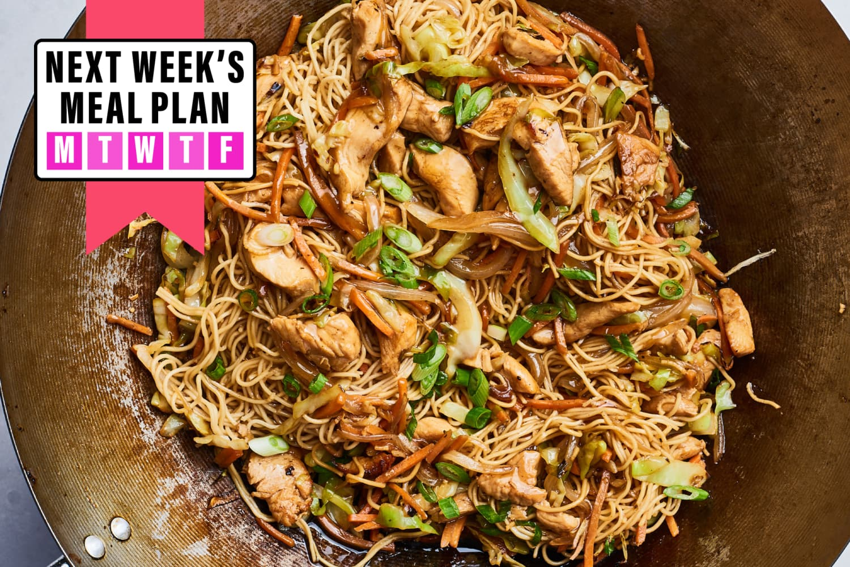 Next Week's Meal Plan: A Week of Easy & Fun Dinners | Kitchn