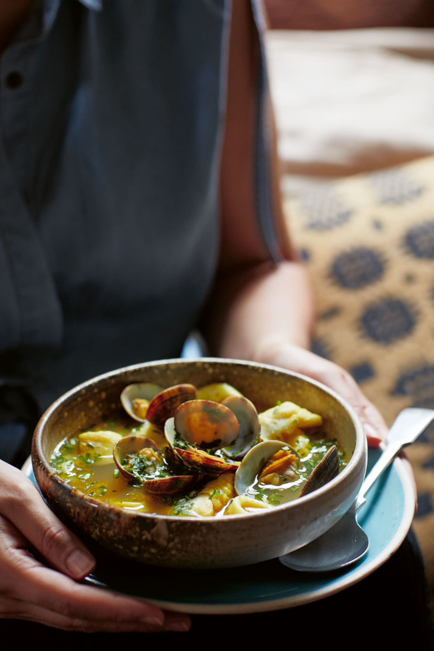 Recipe: Moroccan Turmeric Seafood Soup