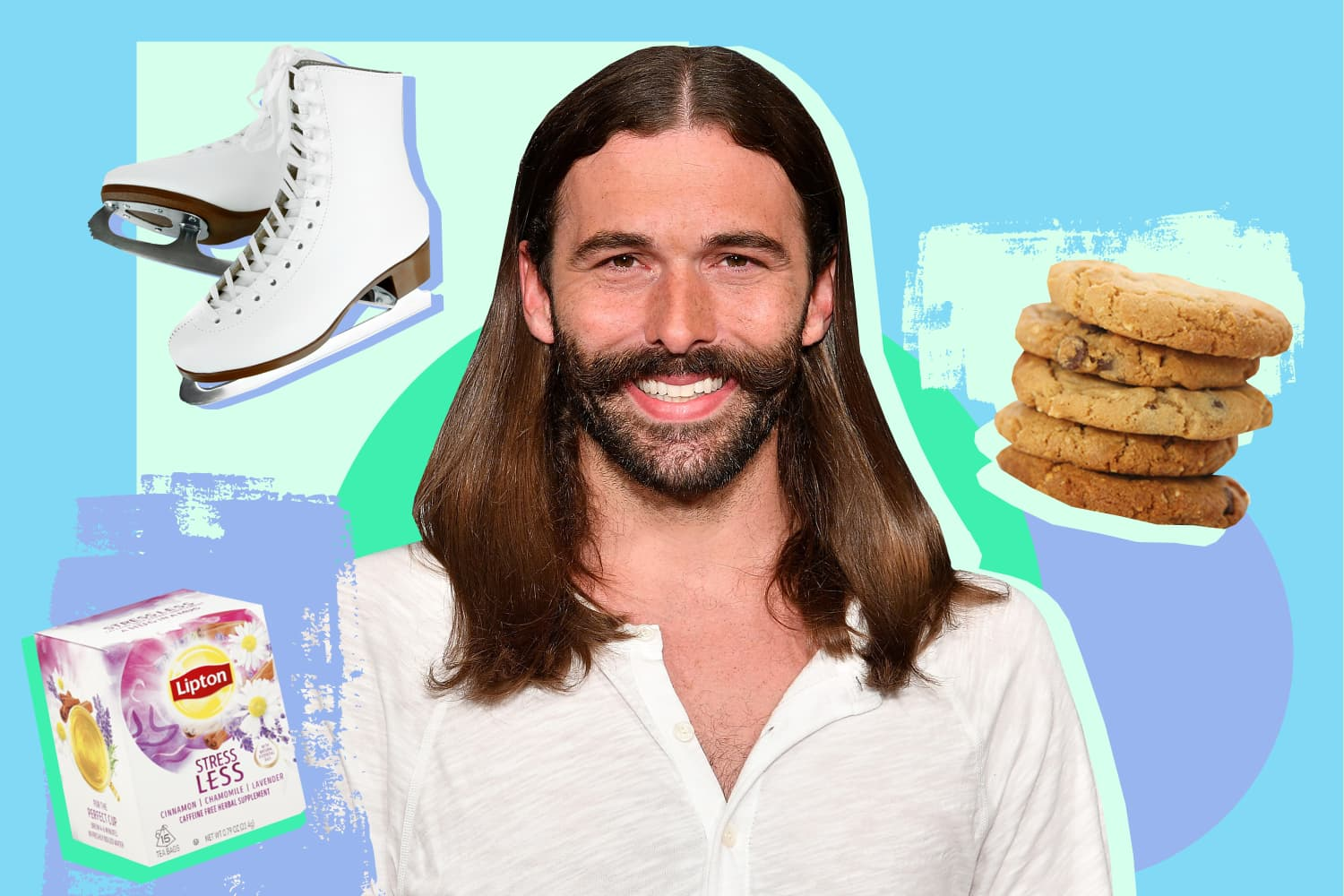 Queer Eye's Jonathan Van Ness Shares His 5 Favorite Forms of Self-Care