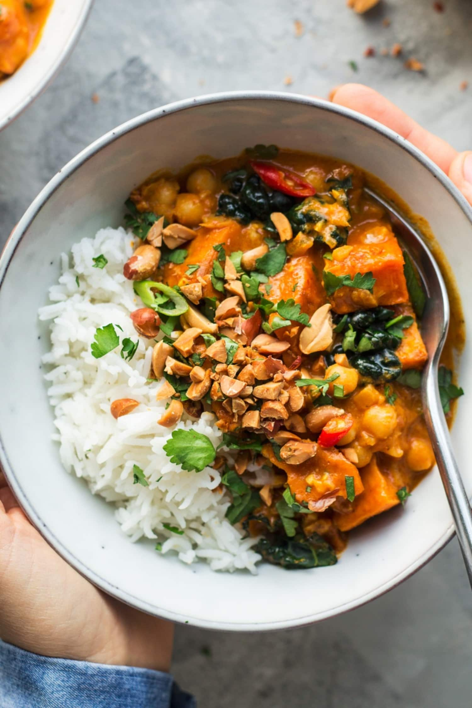 Peanut Curry with Sweet Potato Is a Cold-Weather Hero