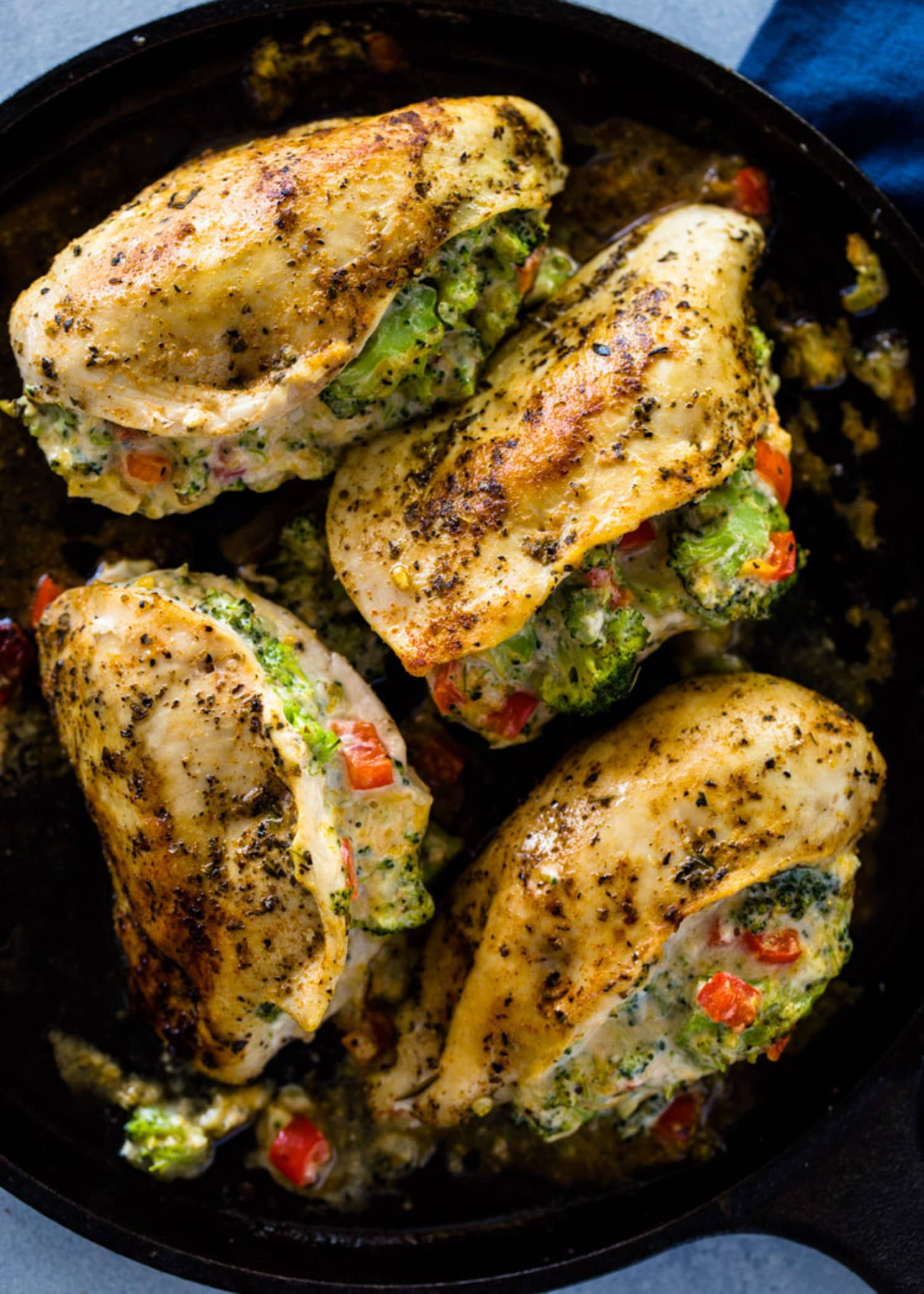 Cheesy Broccoli-Stuffed Chicken Is a Dinner Favorite