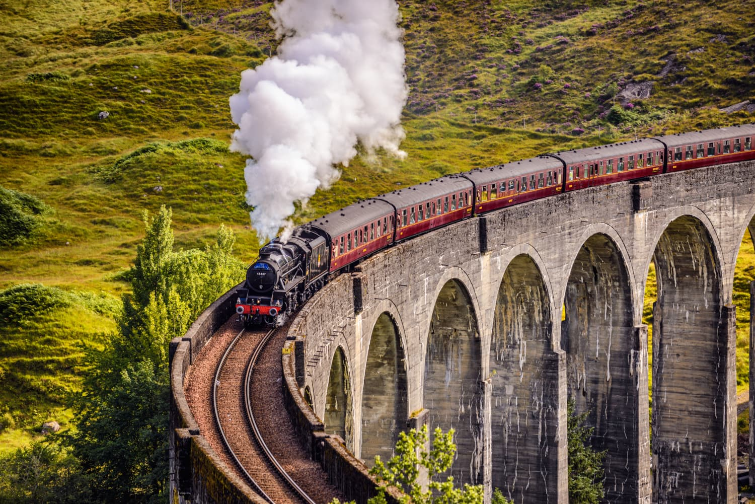 This Is How You Can Ride the Hogwarts Express in Real Life