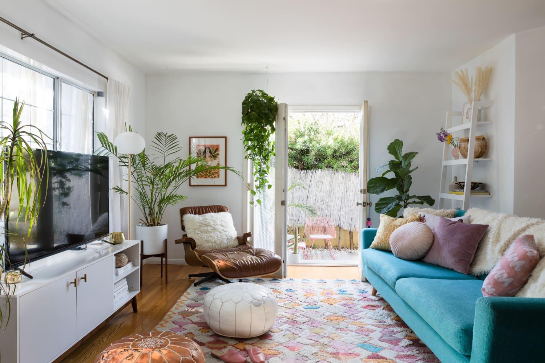 A Cheery L.A. Rental Has a Cute DIY Yard Inspired by Mexico