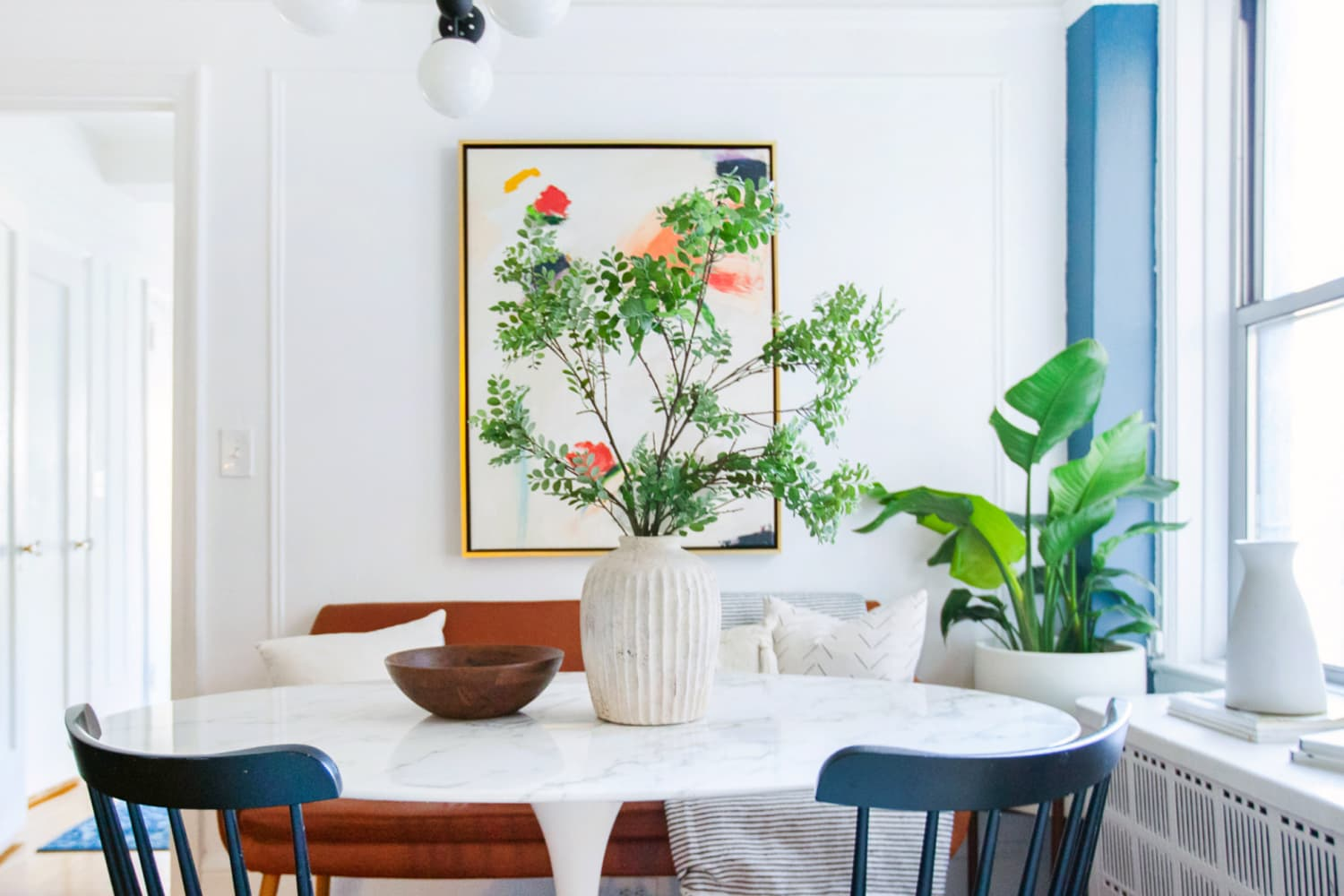 A Family of Four Is Living in a Stylish, Extremely Organized 700 Square Feet