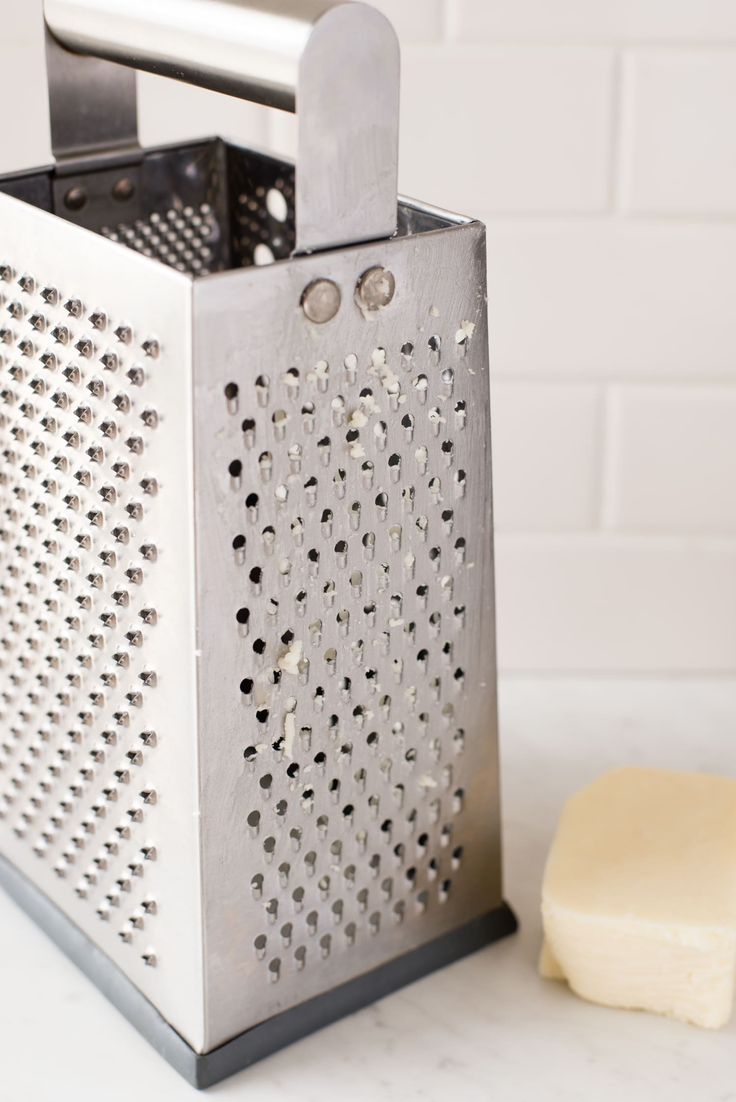 The Easy, Genius Way to Clean Your Cheese Grater