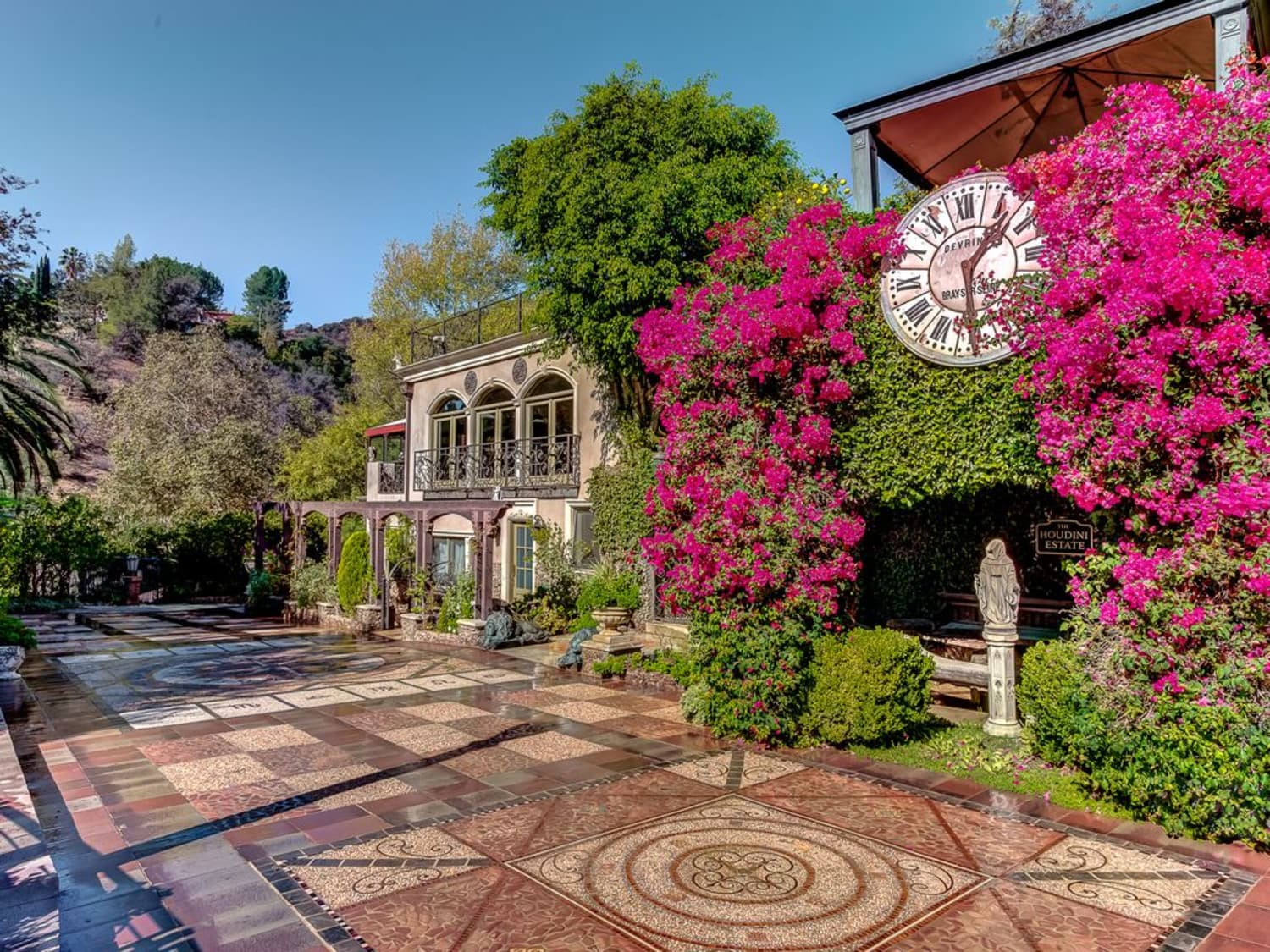 You Can Rent The Mysterious Houdini Estate in Hollywood for $1.5K/Night