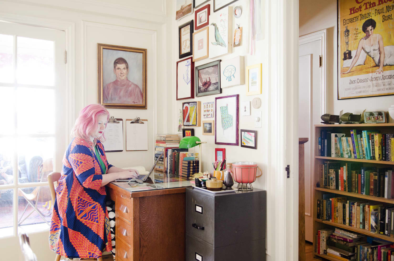 This Author's Cozy San Francisco Apartment Is Bursting With Books, Color and Art