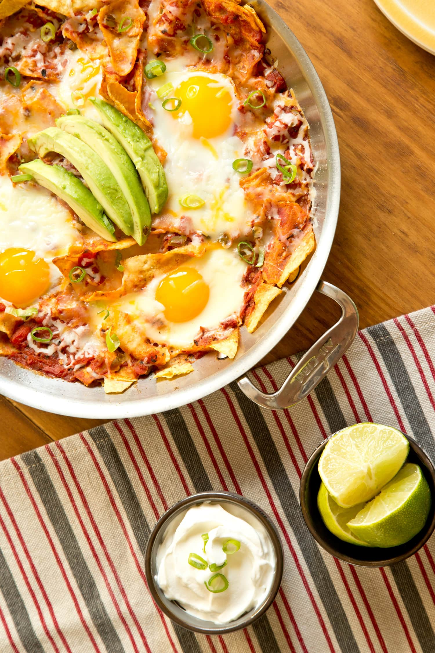 Recipe: Skillet Chipotle Chilaquiles with Eggs