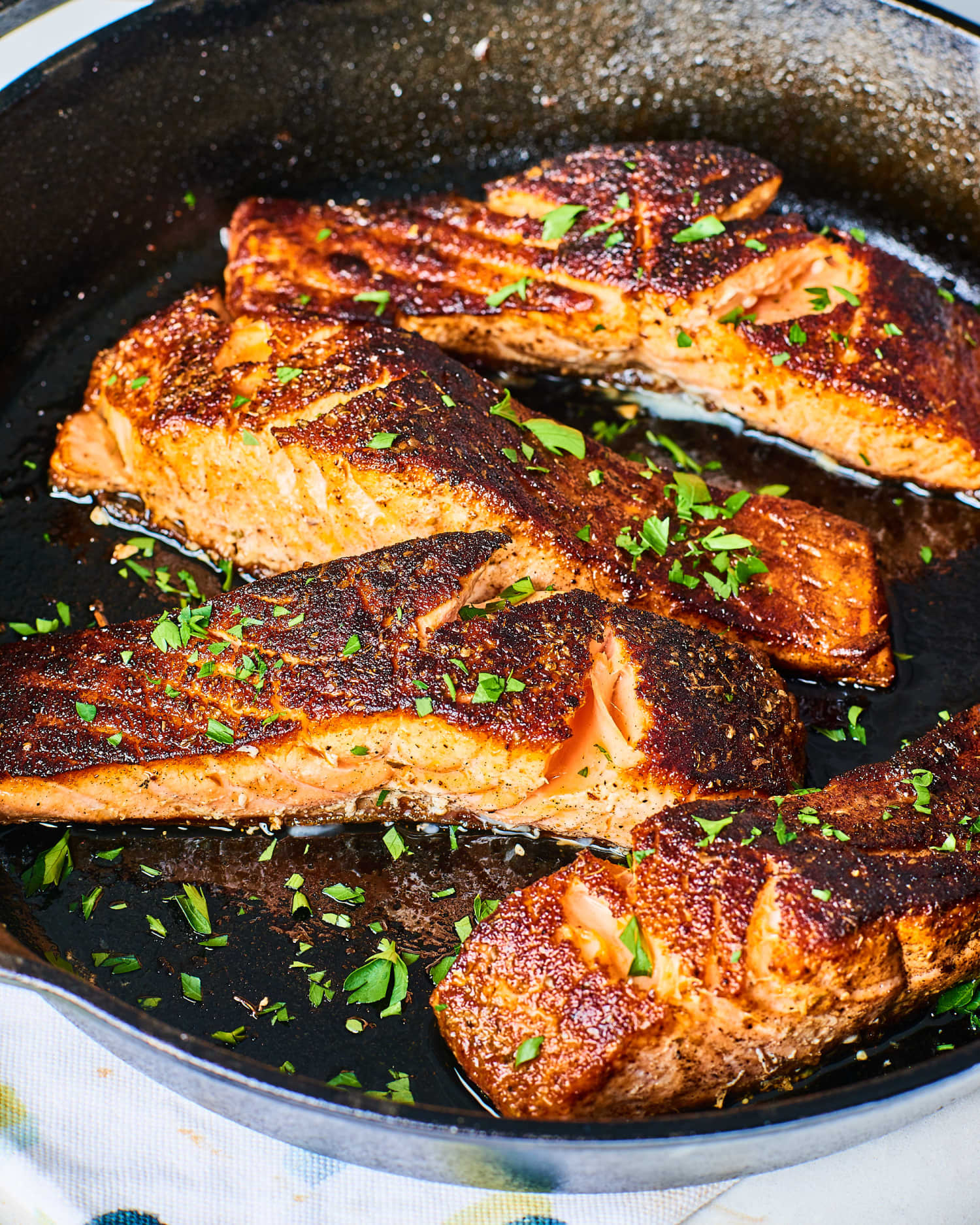 Recipe: 10-Minute Blackened Salmon