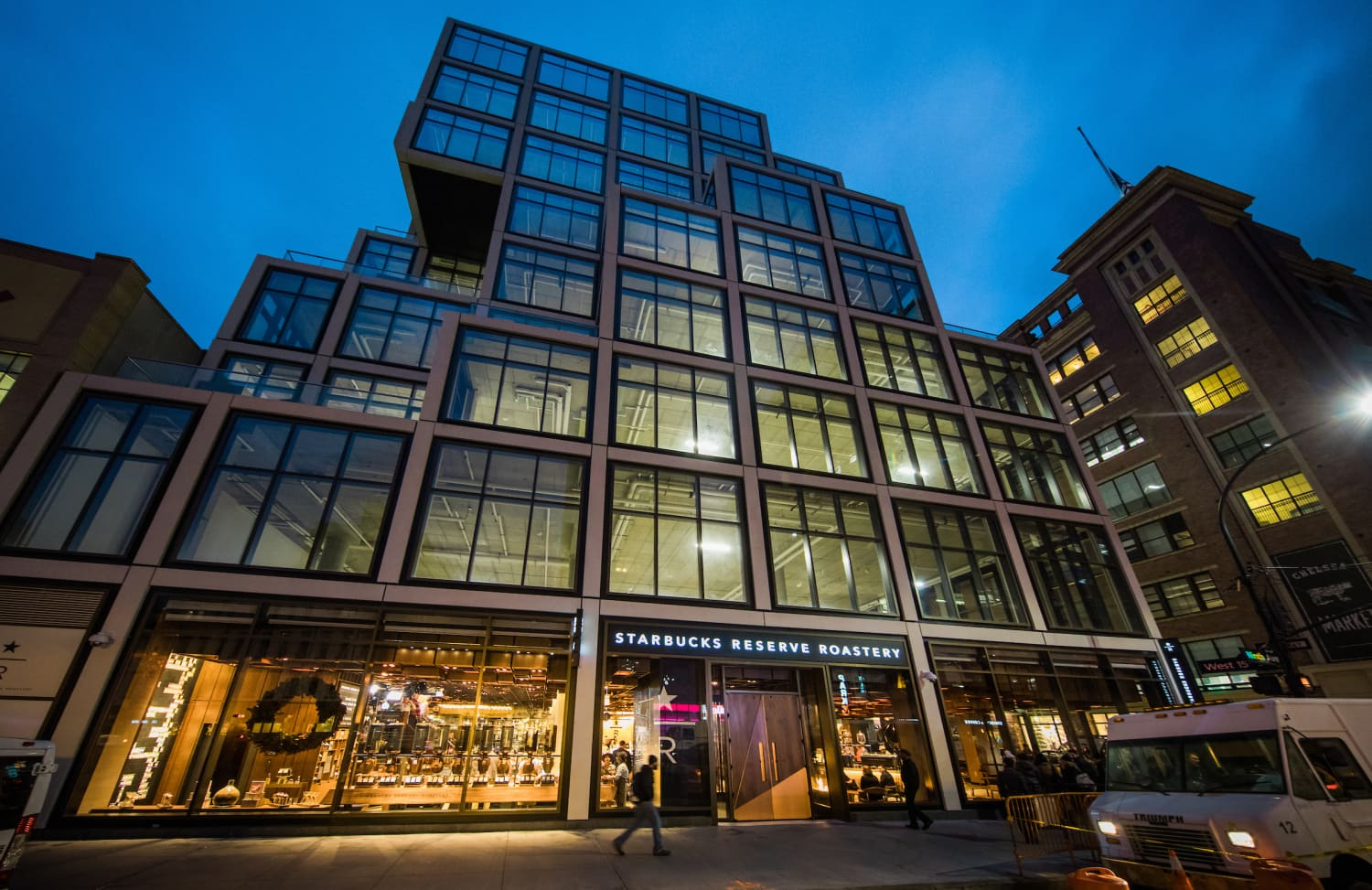 A 23,000-Square-Foot Starbucks Just Opened in New York City