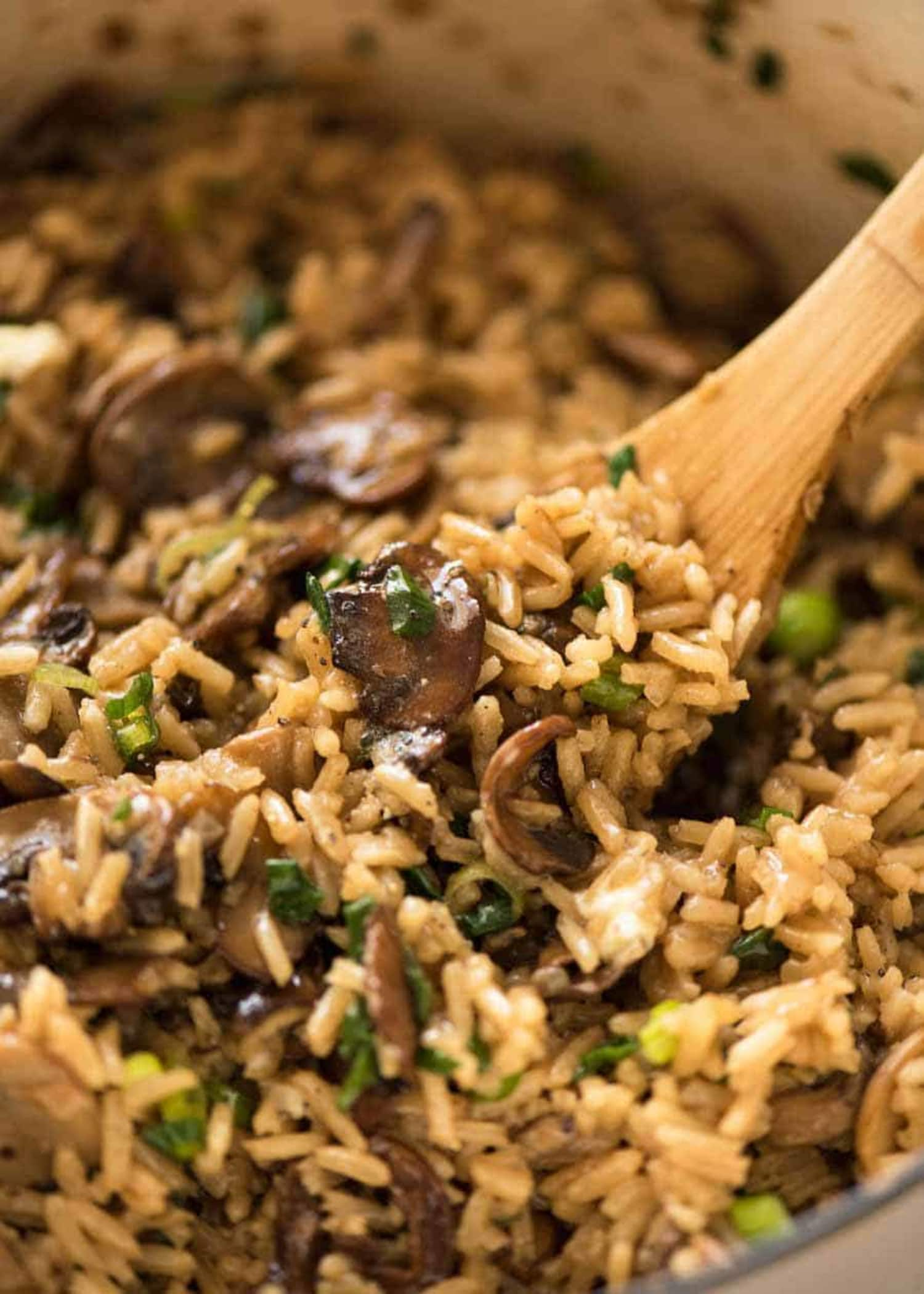 This Absurdly Easy Rice Recipe Is for Mushroom-Lovers